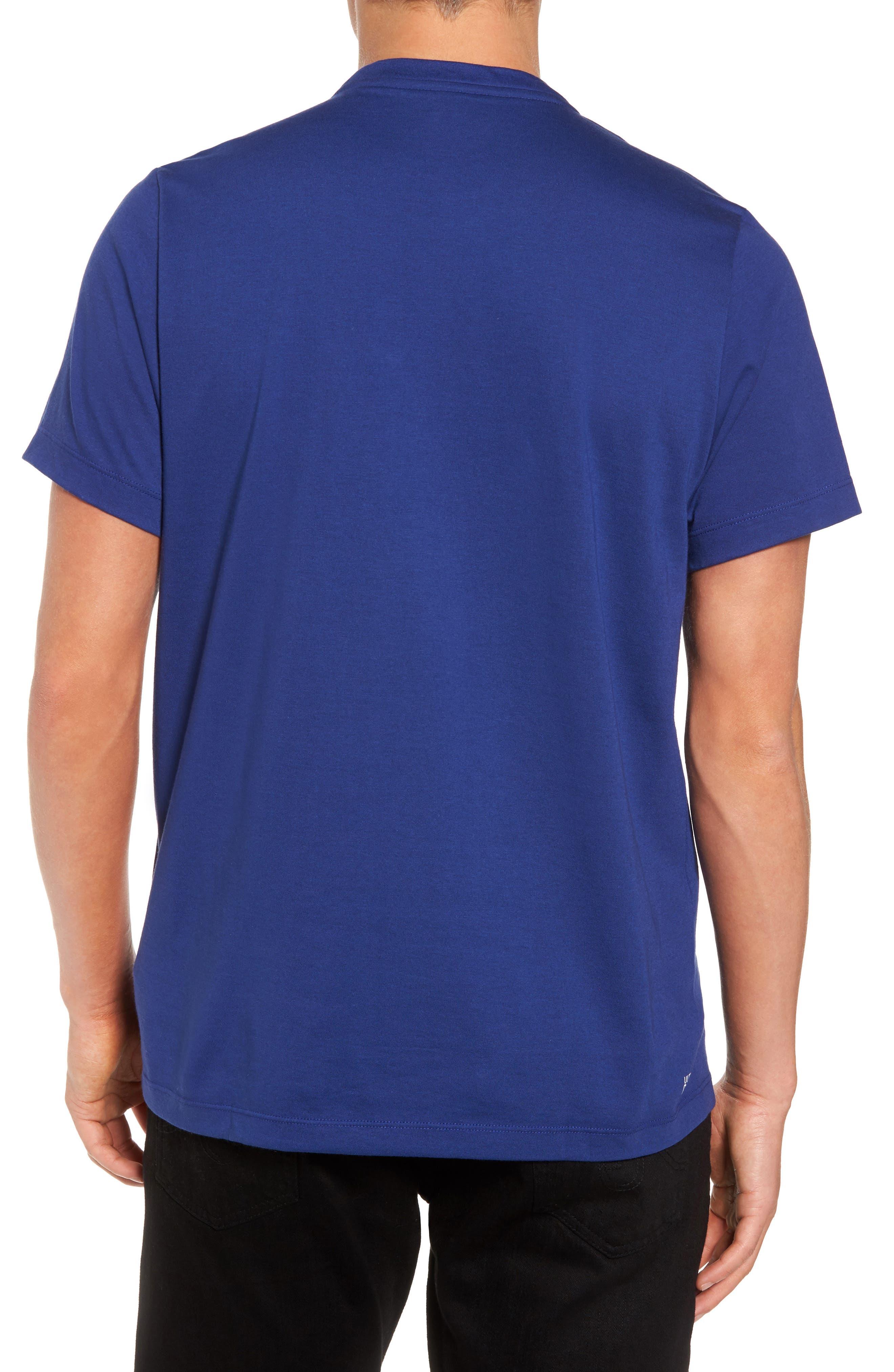 Tech Vertical Stripe Graphic T-Shirt,                             Alternate thumbnail 6, color,