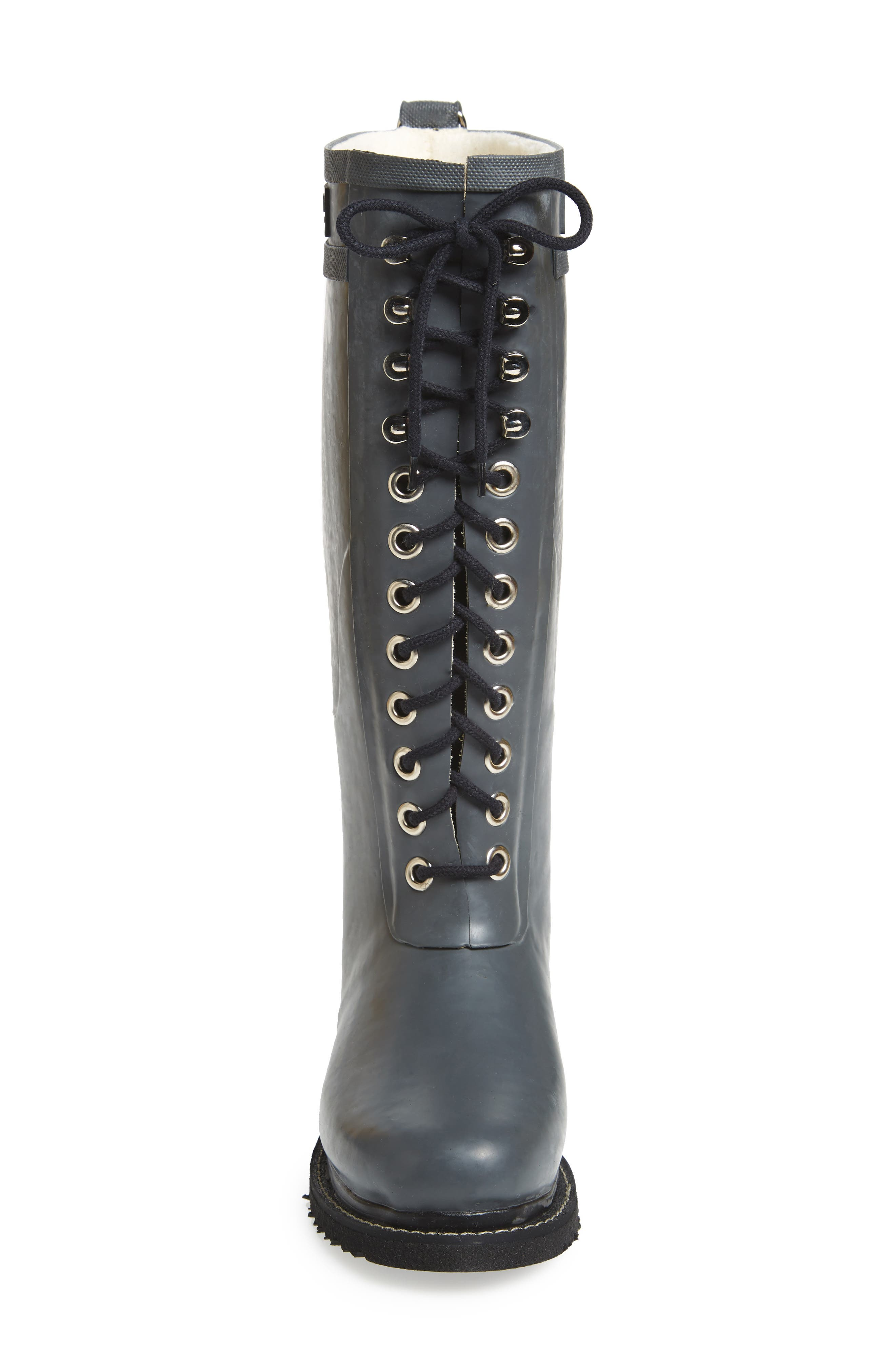 Rubber Boot,                             Alternate thumbnail 5, color,                             GREY