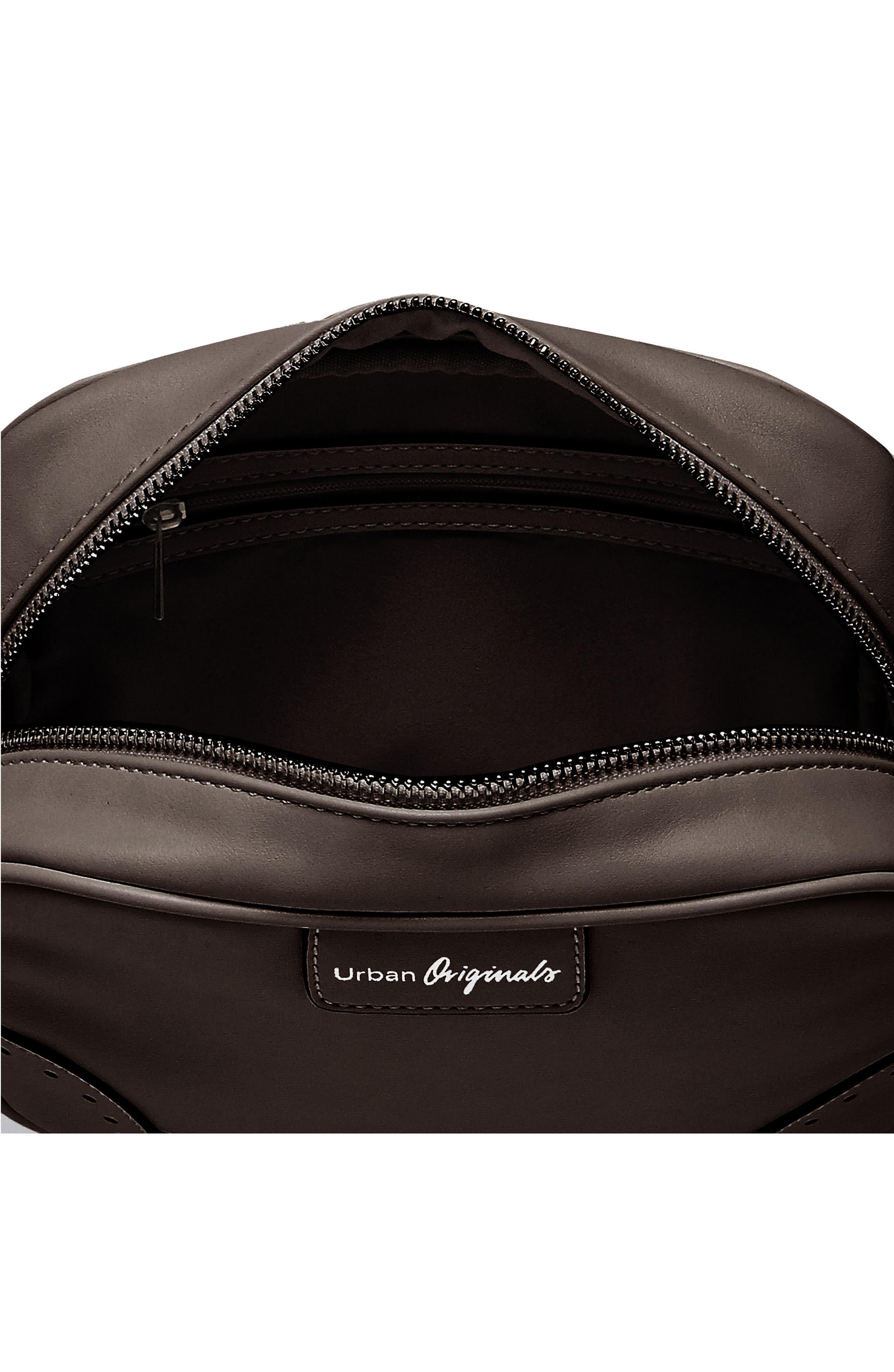 Splendour Vegan Leather Crossbody Bag,                             Alternate thumbnail 2, color,                             001