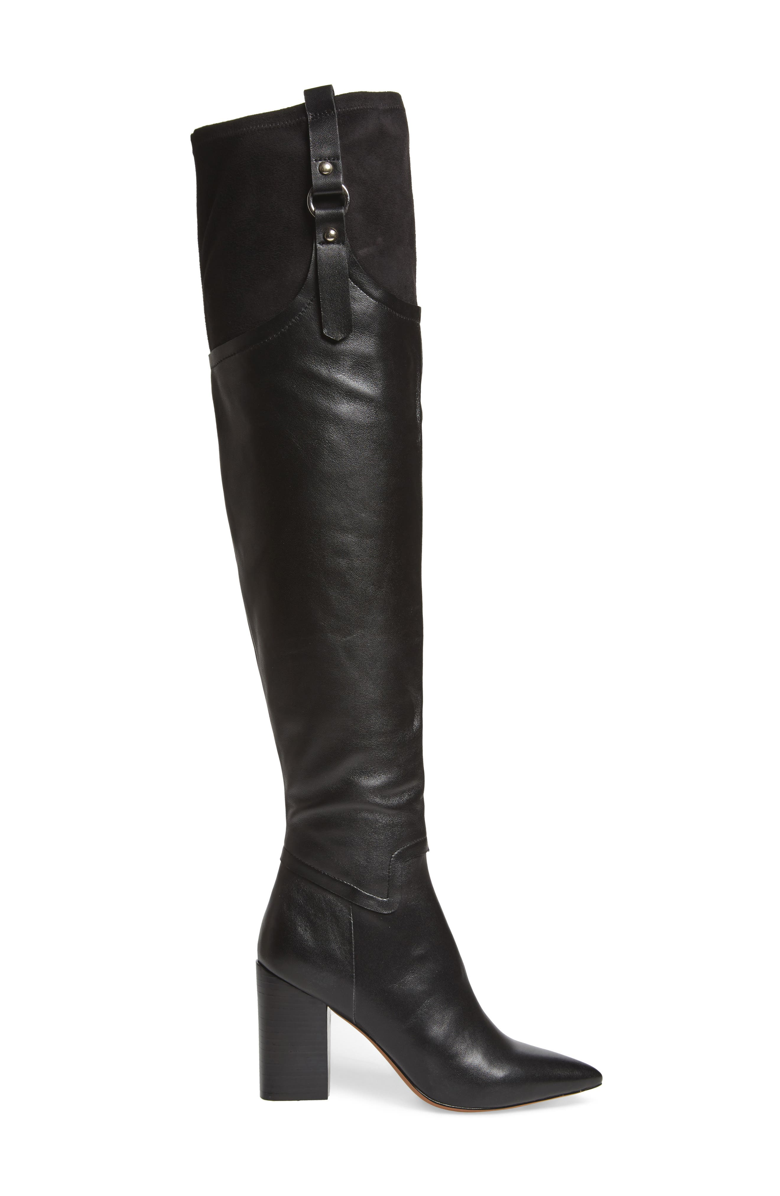 Baily Over the Knee Boot,                             Alternate thumbnail 3, color,                             005