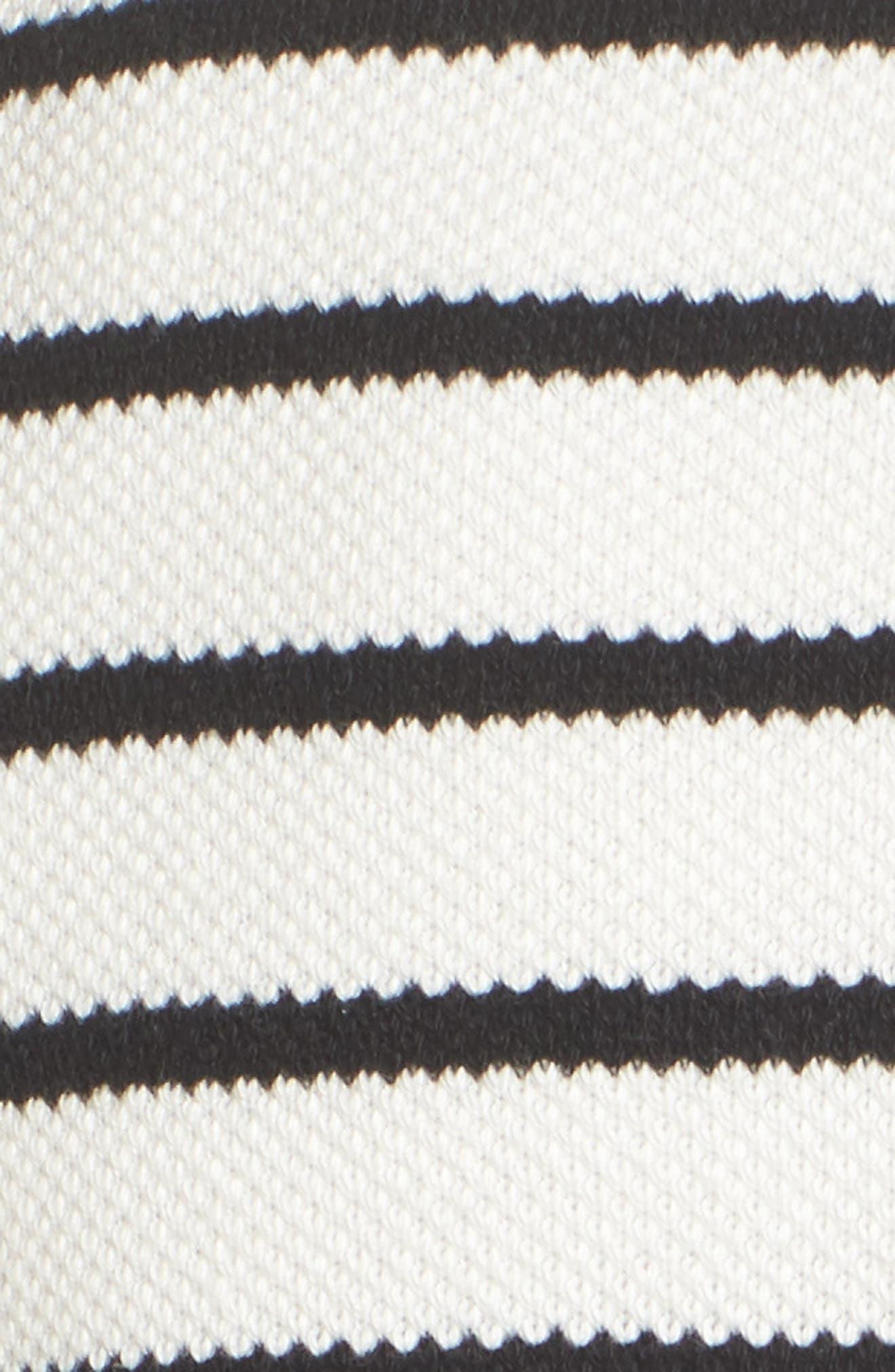 Stripe Knit Drawsting Jacket,                             Alternate thumbnail 12, color,