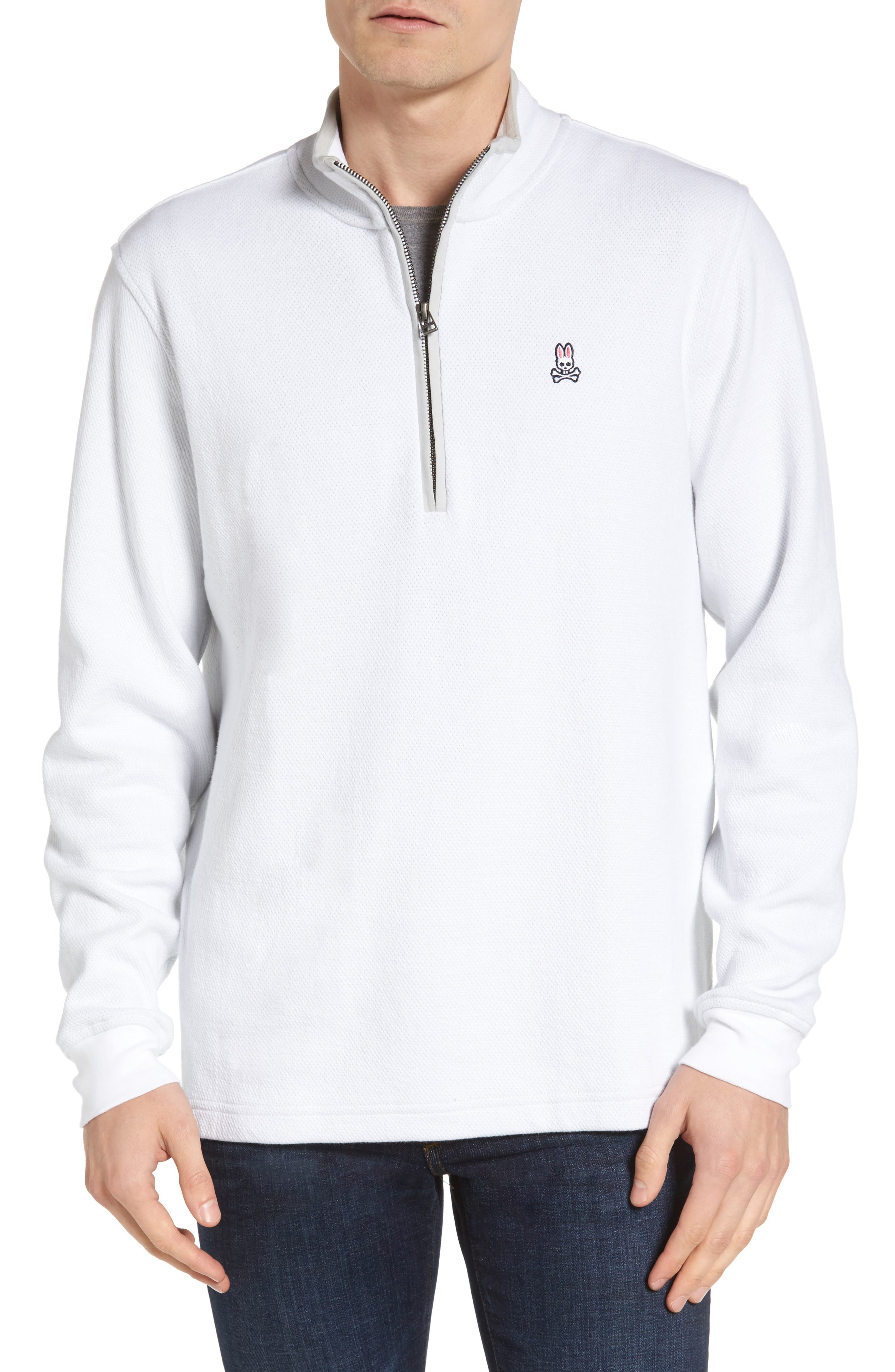 Golf Half Zip Pullover,                         Main,                         color, 100
