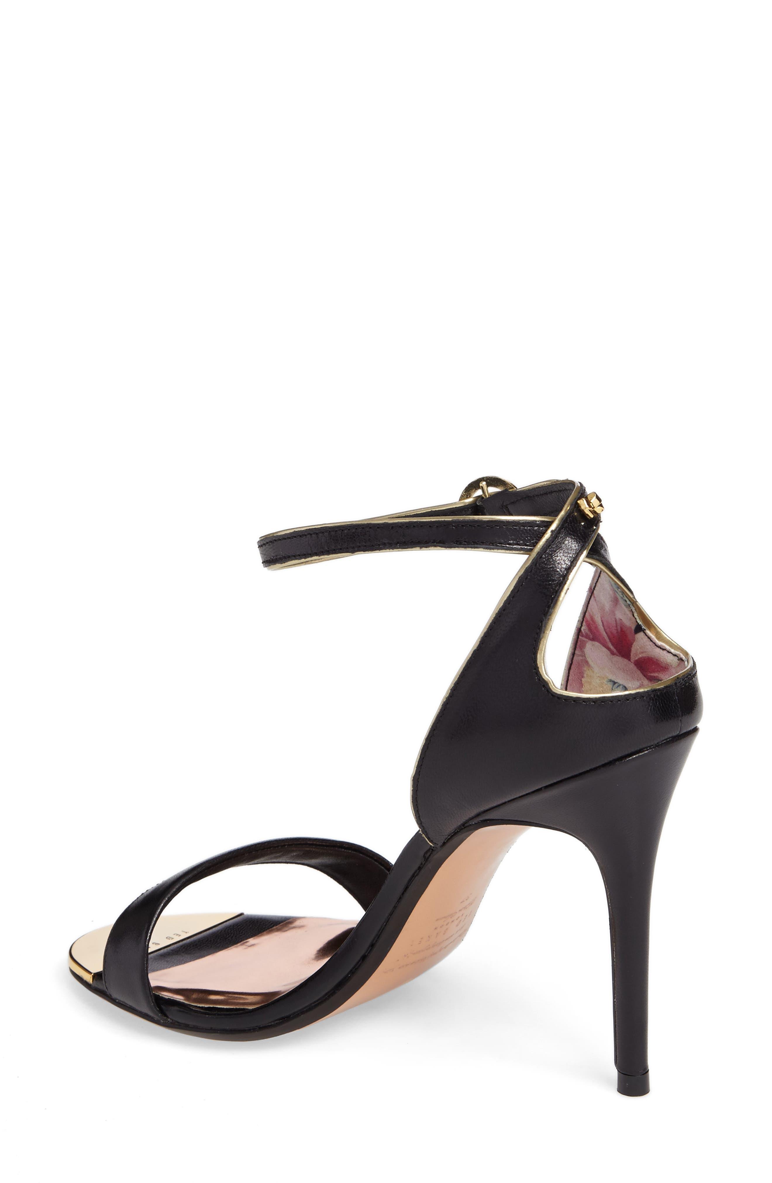 Mirobell Ankle Strap Sandal,                             Alternate thumbnail 4, color,