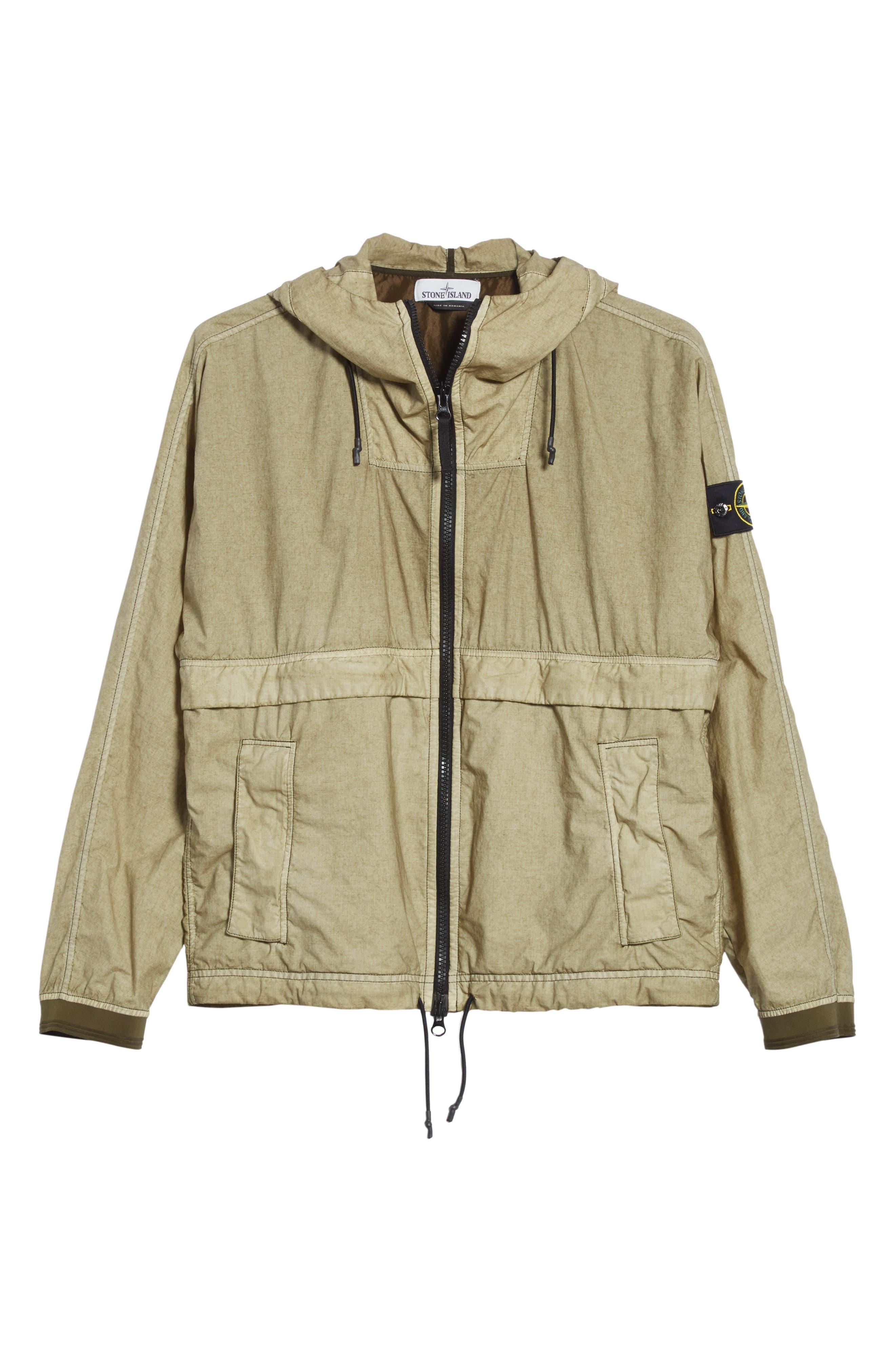 Poplin Hooded Jacket,                             Alternate thumbnail 10, color,