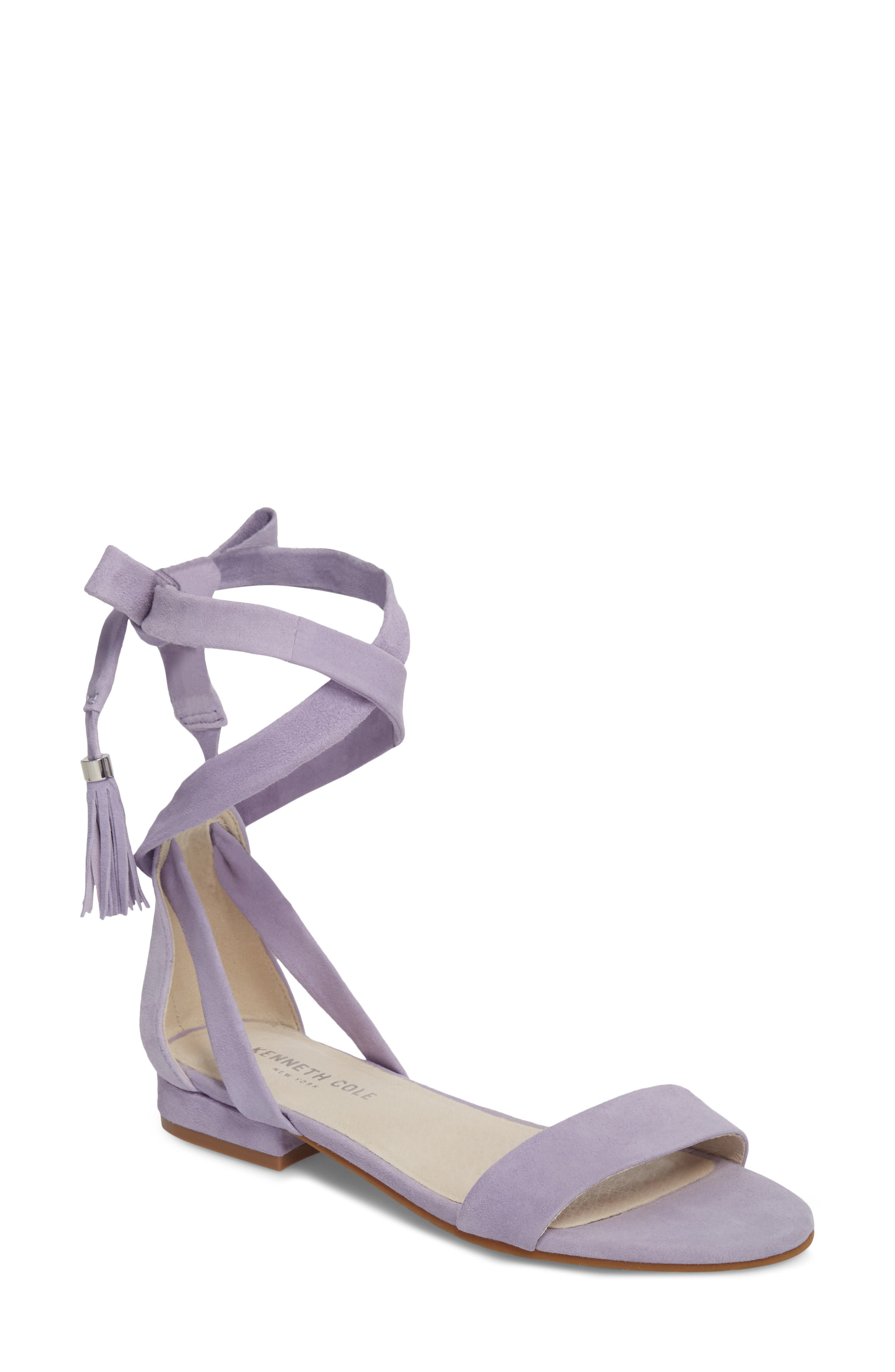 Valen Tassel Lace-Up Sandal,                         Main,                         color, 530