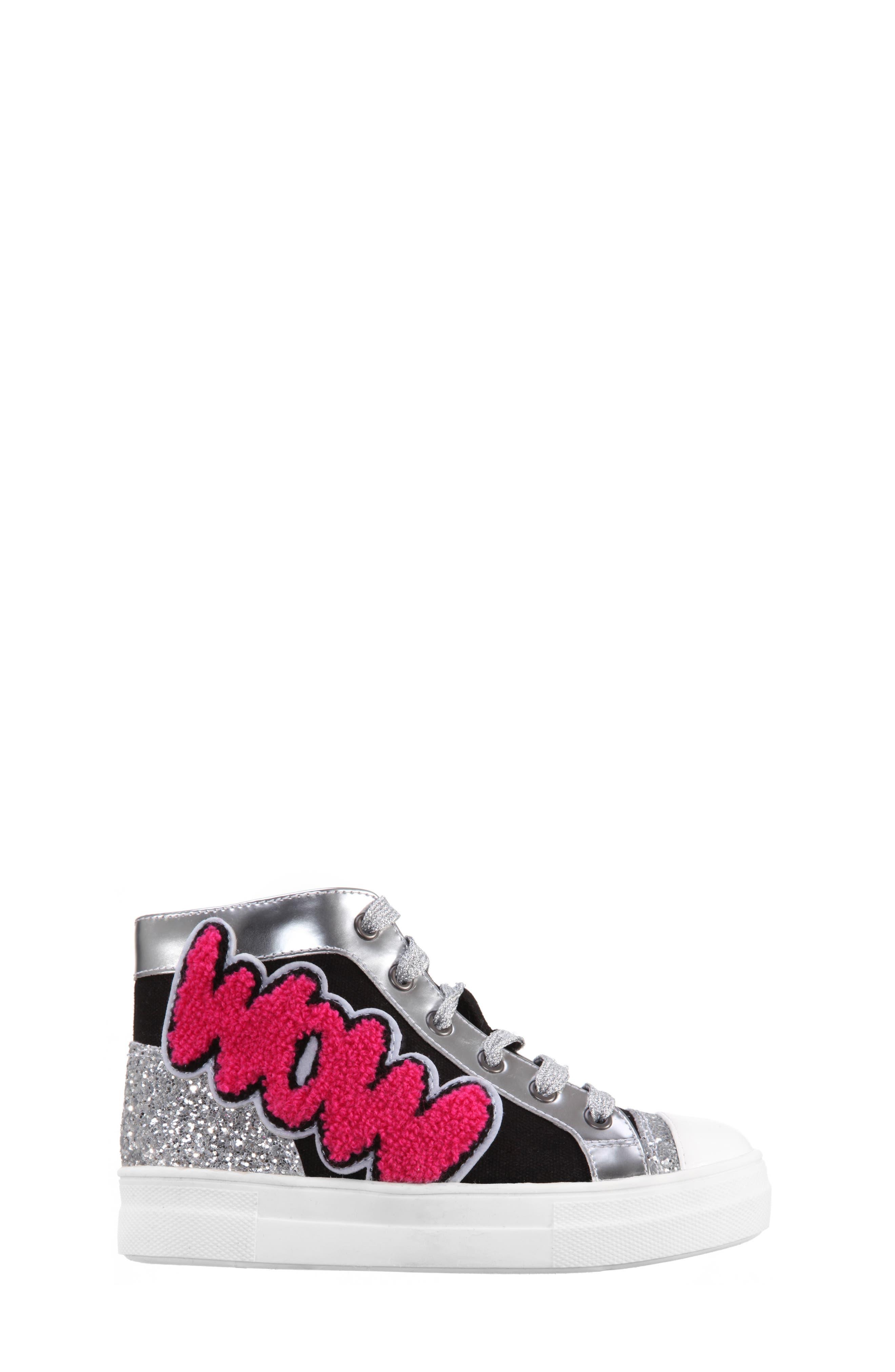 Gita High Top Sneaker,                             Alternate thumbnail 3, color,                             009