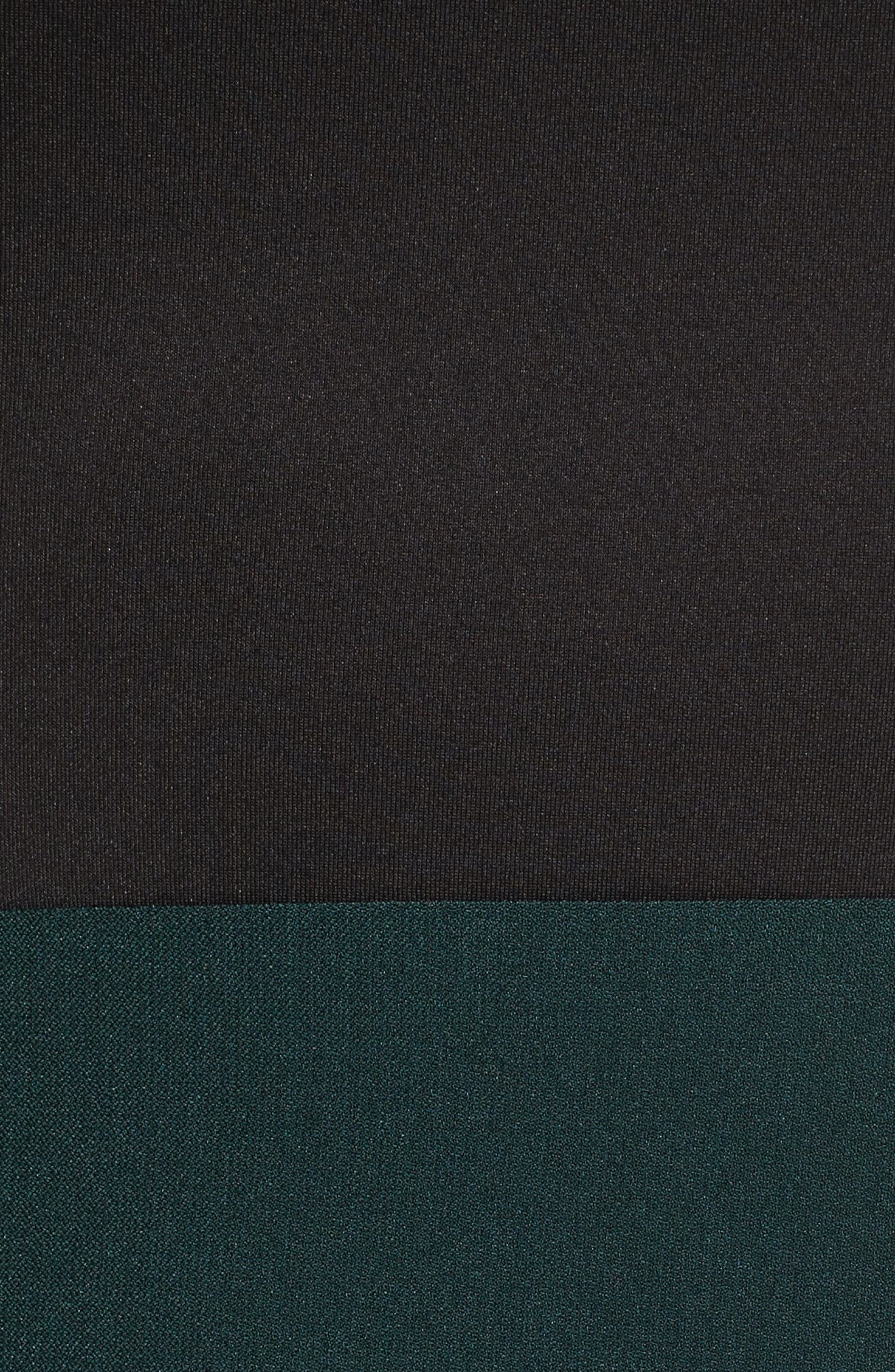 Scuba & Crepe Sheath Dress,                             Alternate thumbnail 11, color,