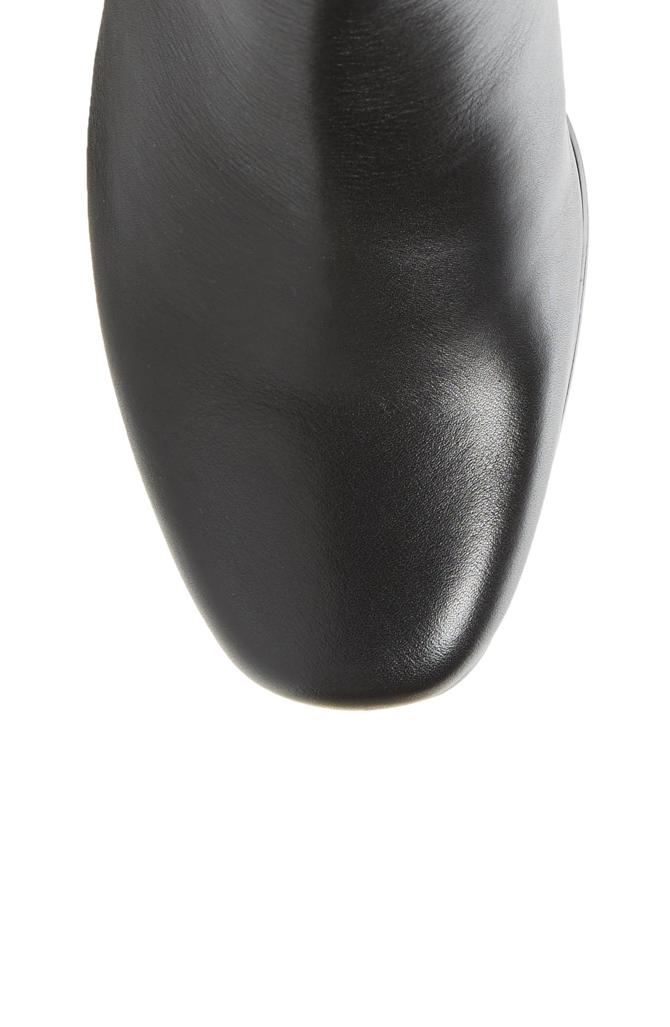 Bonita 18 Boot,                             Alternate thumbnail 5, color,                             BLACK LEATHER FABRIC