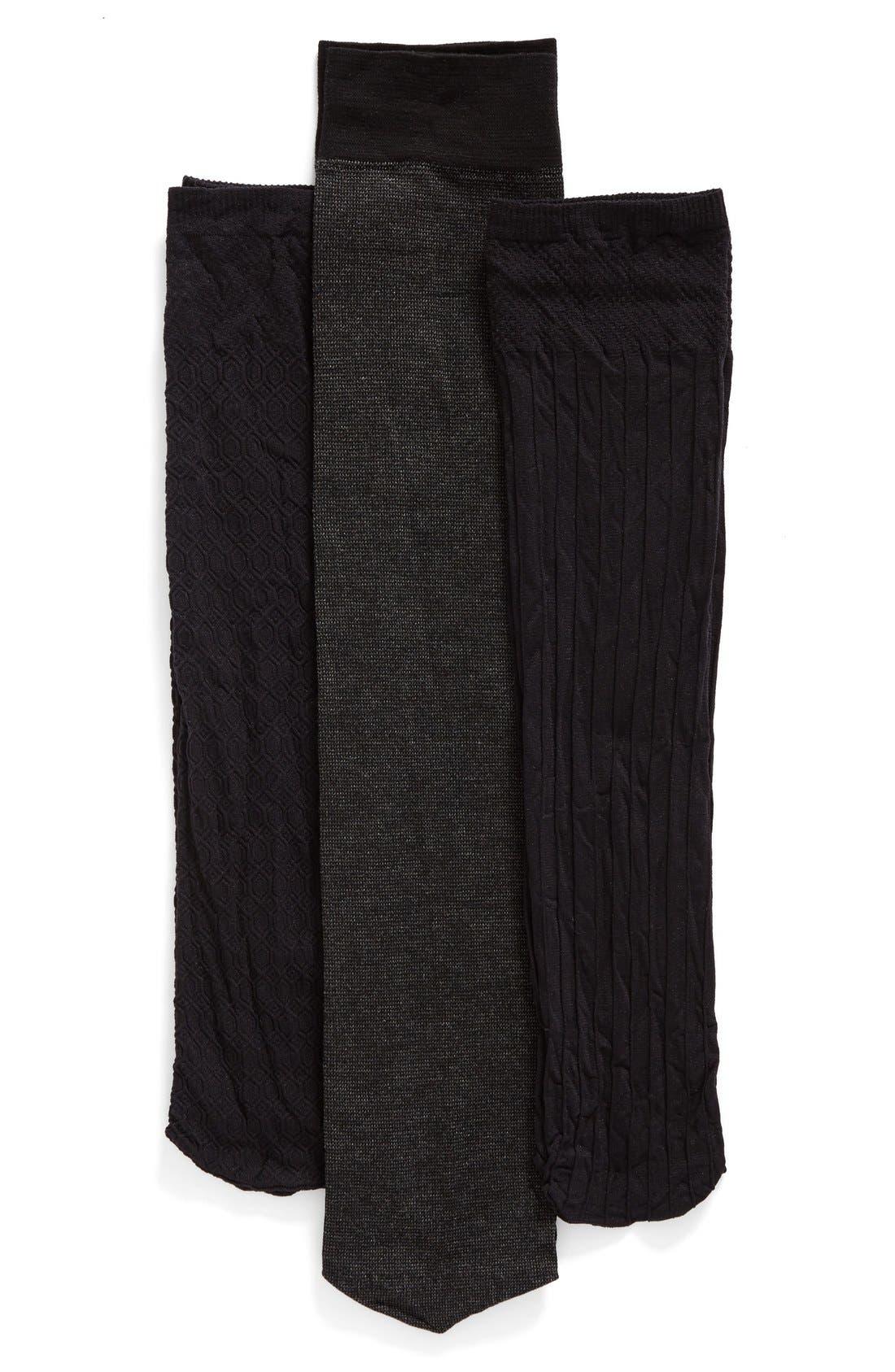 Pattern Trouser Socks,                             Main thumbnail 4, color,