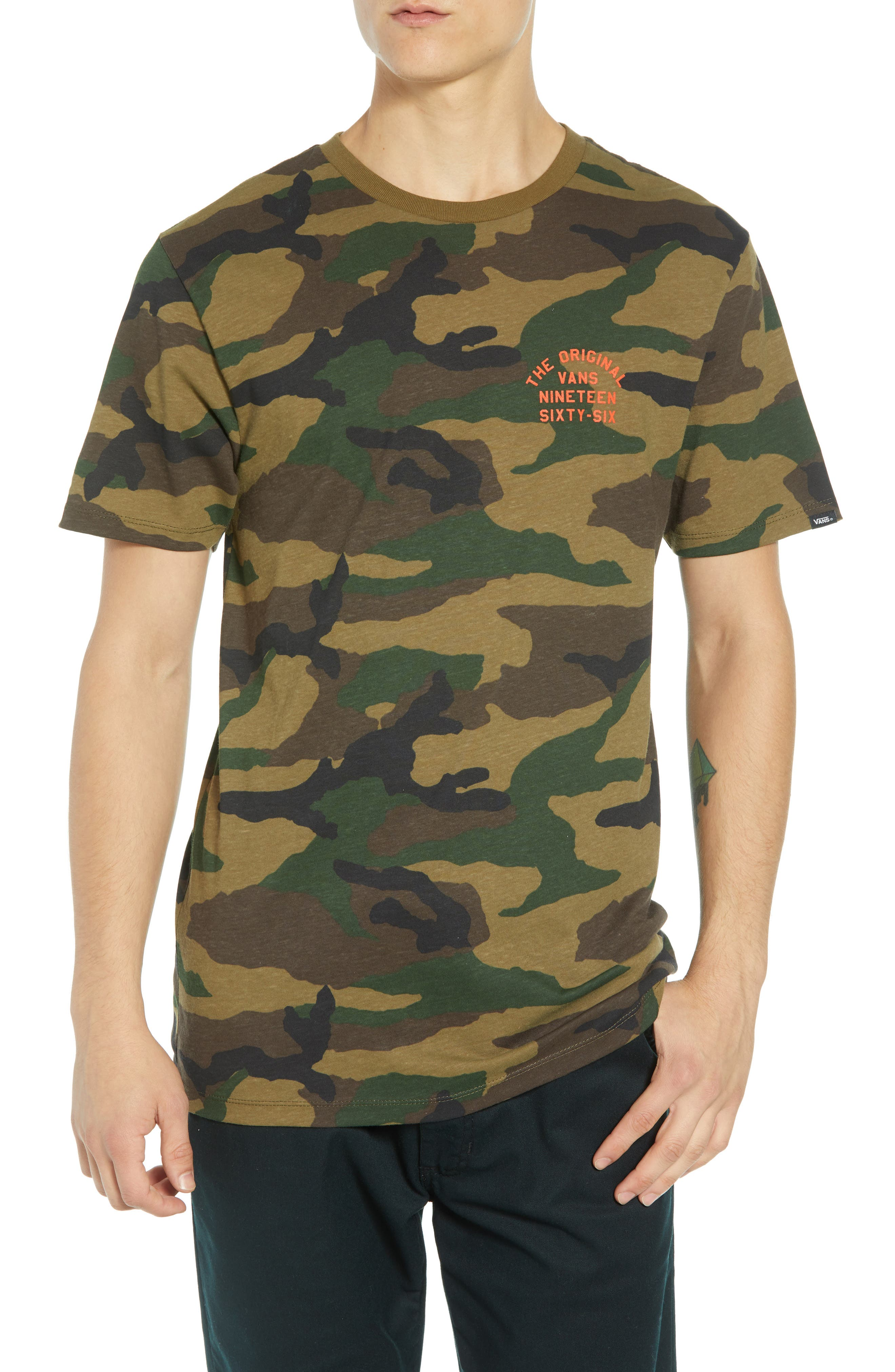 VANS Spring Training T-Shirt, Main, color, 300