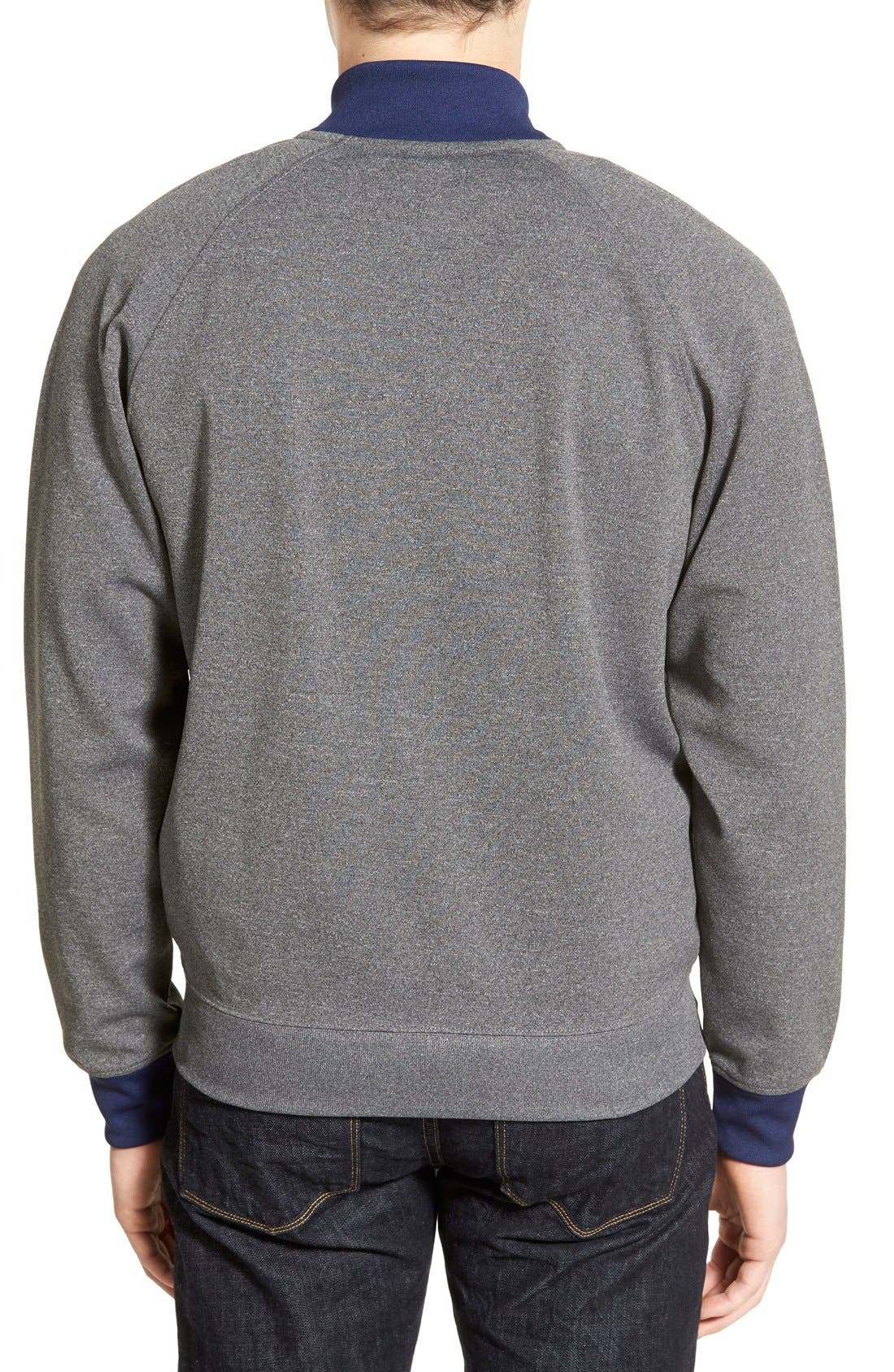 FRED PERRY,                             Bomber Track Jacket,                             Alternate thumbnail 5, color,                             024