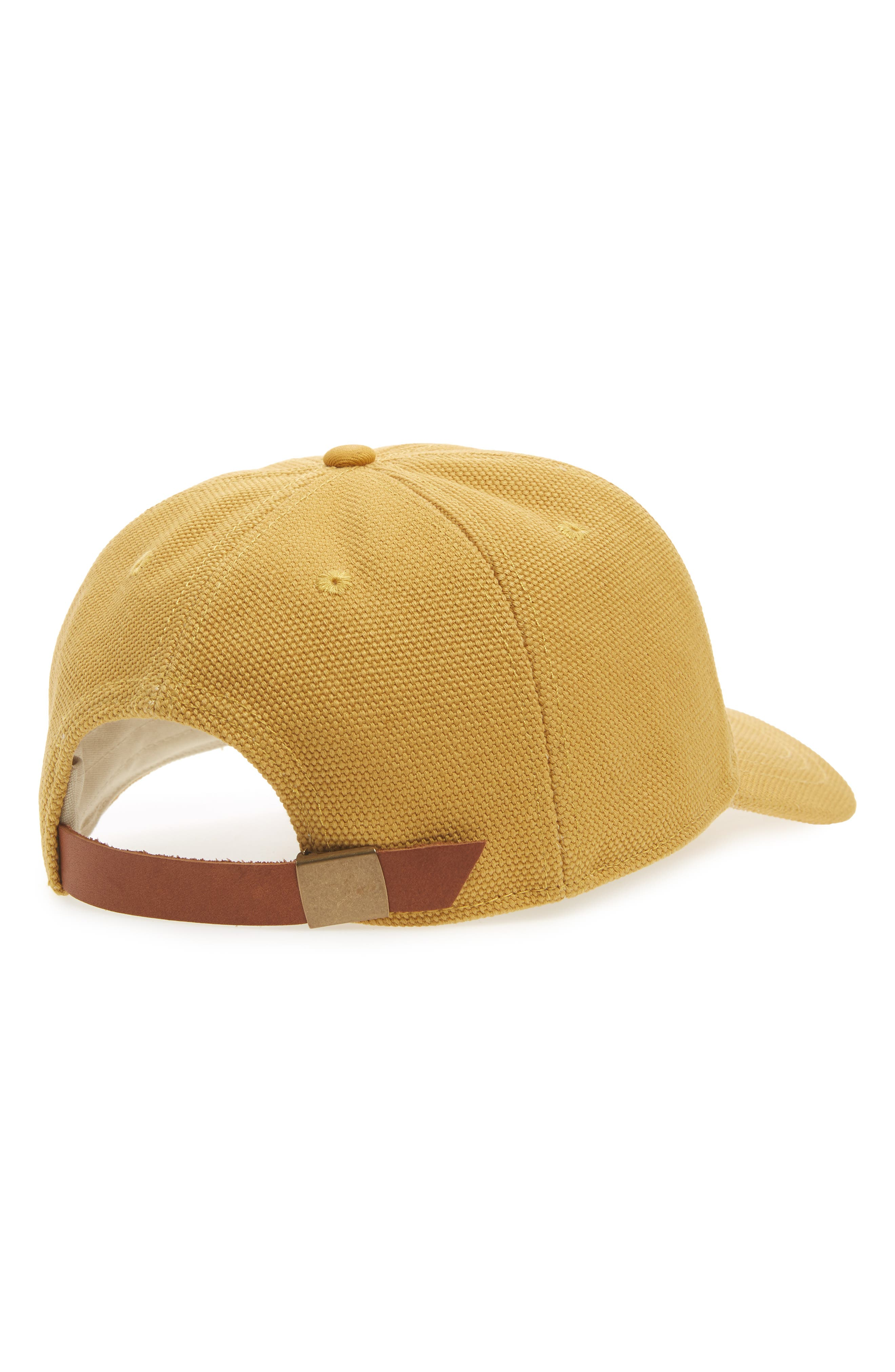 Canvas Baseball Cap,                             Alternate thumbnail 2, color,                             250