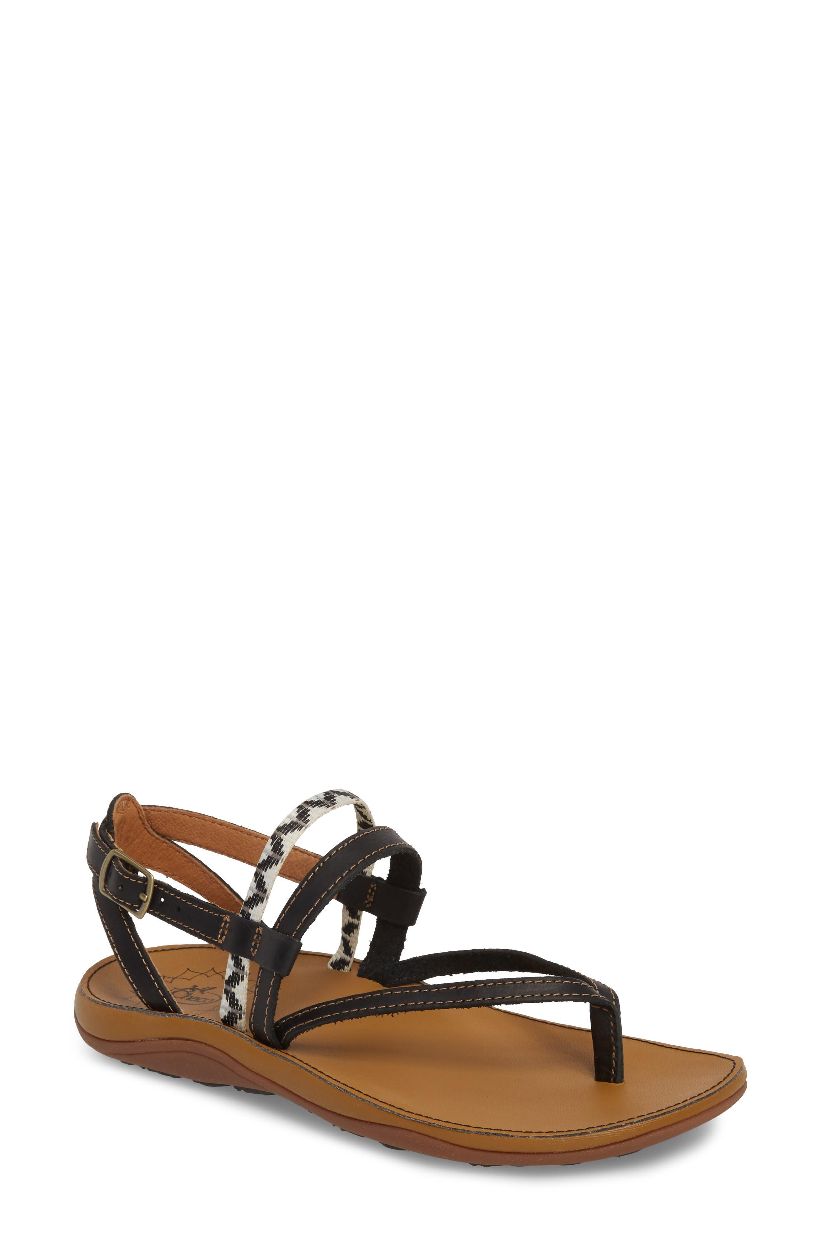 Loveland Sandal,                         Main,                         color, DOLMAN BLACK