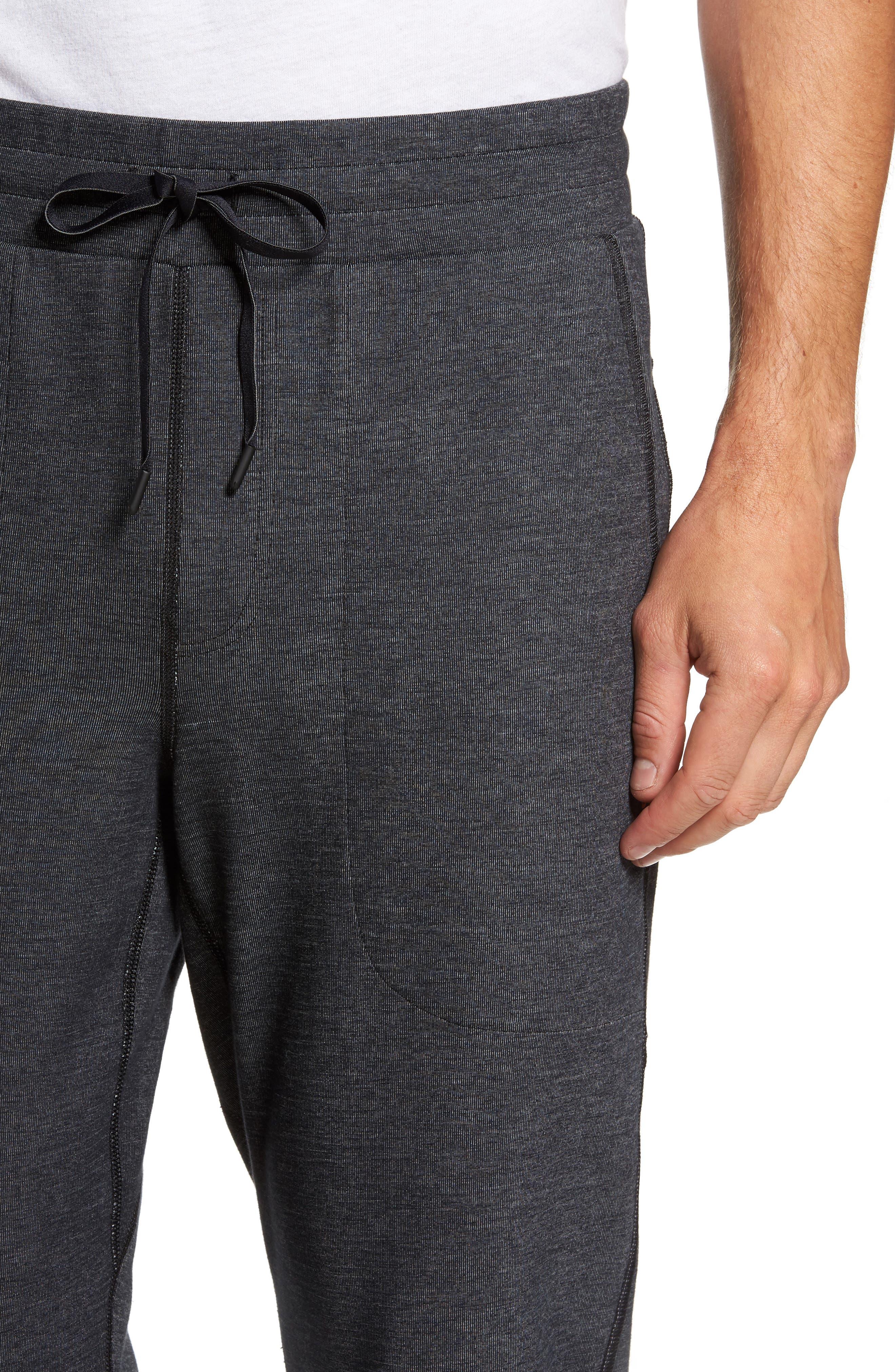 Slim Fit Fusion Jogger Pants,                             Alternate thumbnail 4, color,                             001