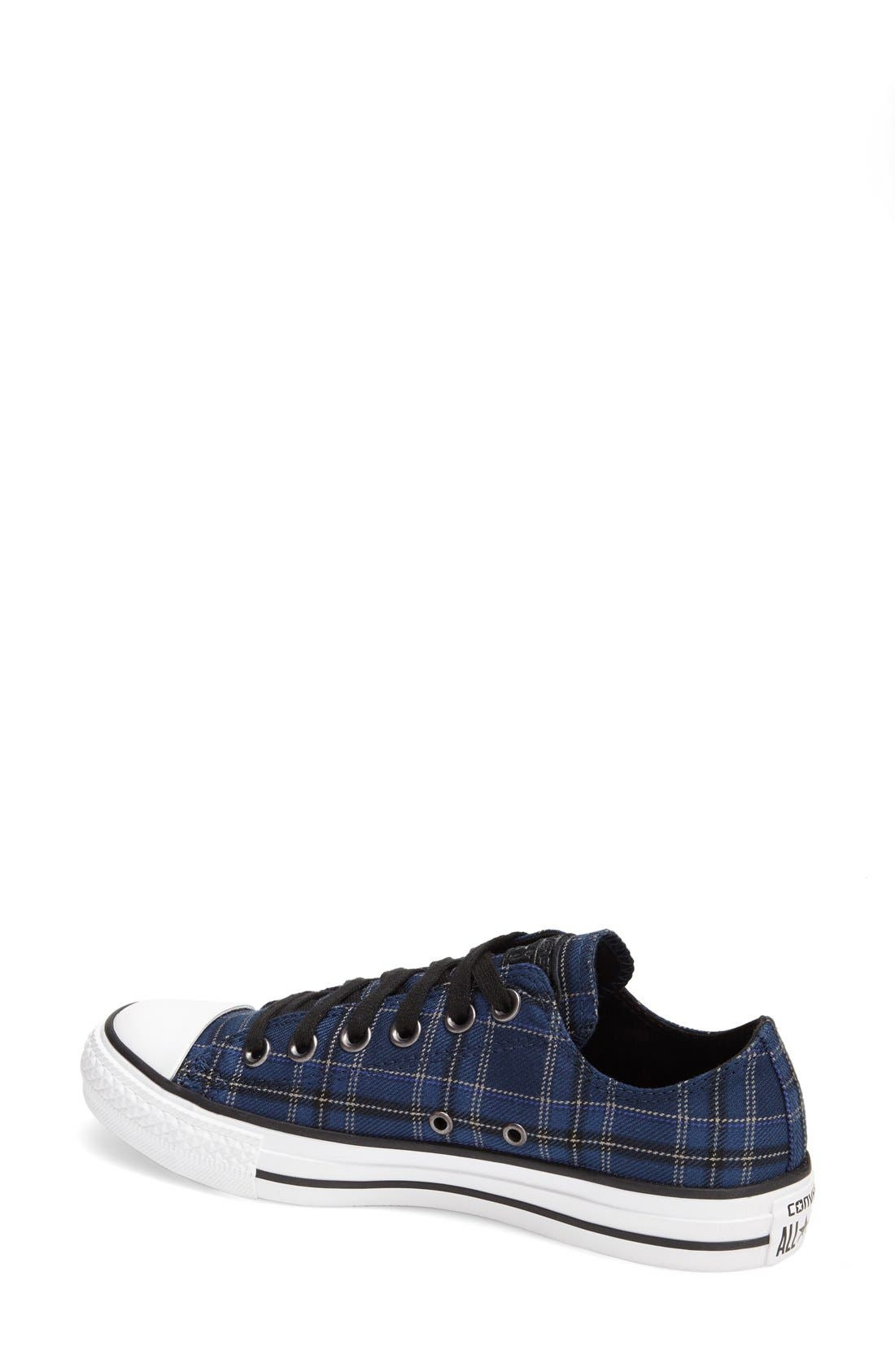 Chuck Taylor<sup>®</sup> All Star<sup>®</sup> Plaid Low Top Sneaker,                             Alternate thumbnail 3, color,                             250