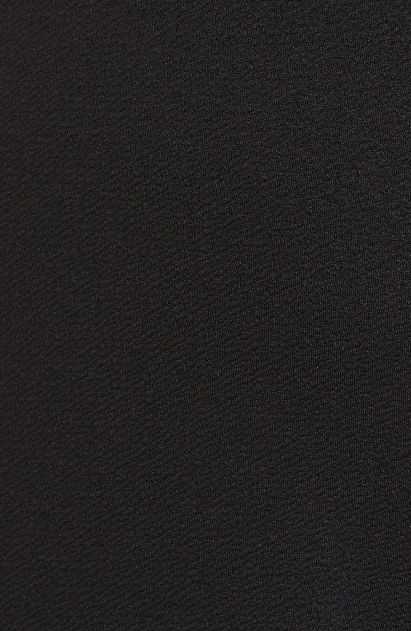 Ruffle Sleeve Romper,                             Alternate thumbnail 5, color,                             001