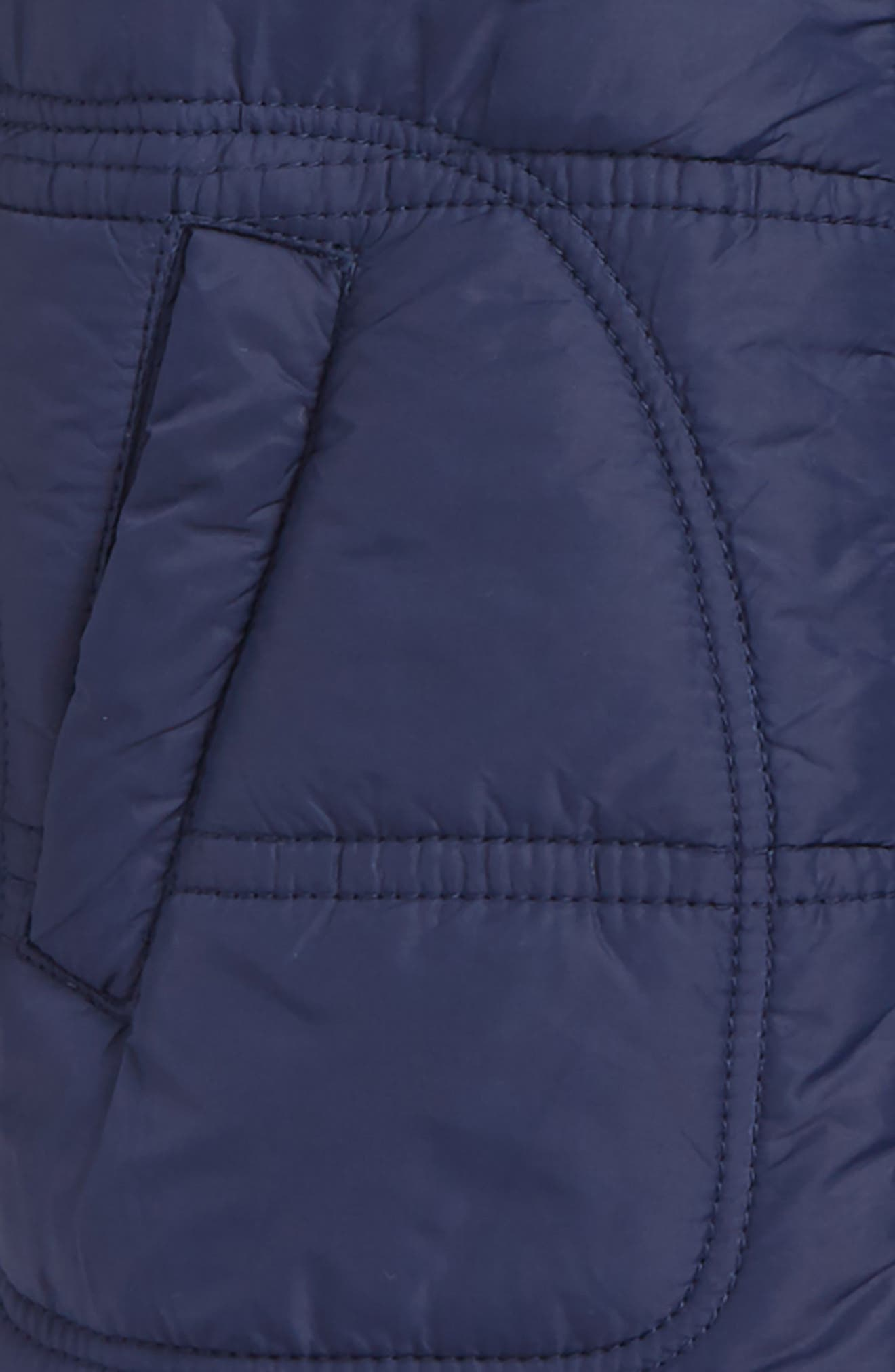 Layer Look Hooded Jacket,                             Alternate thumbnail 2, color,                             NAVY