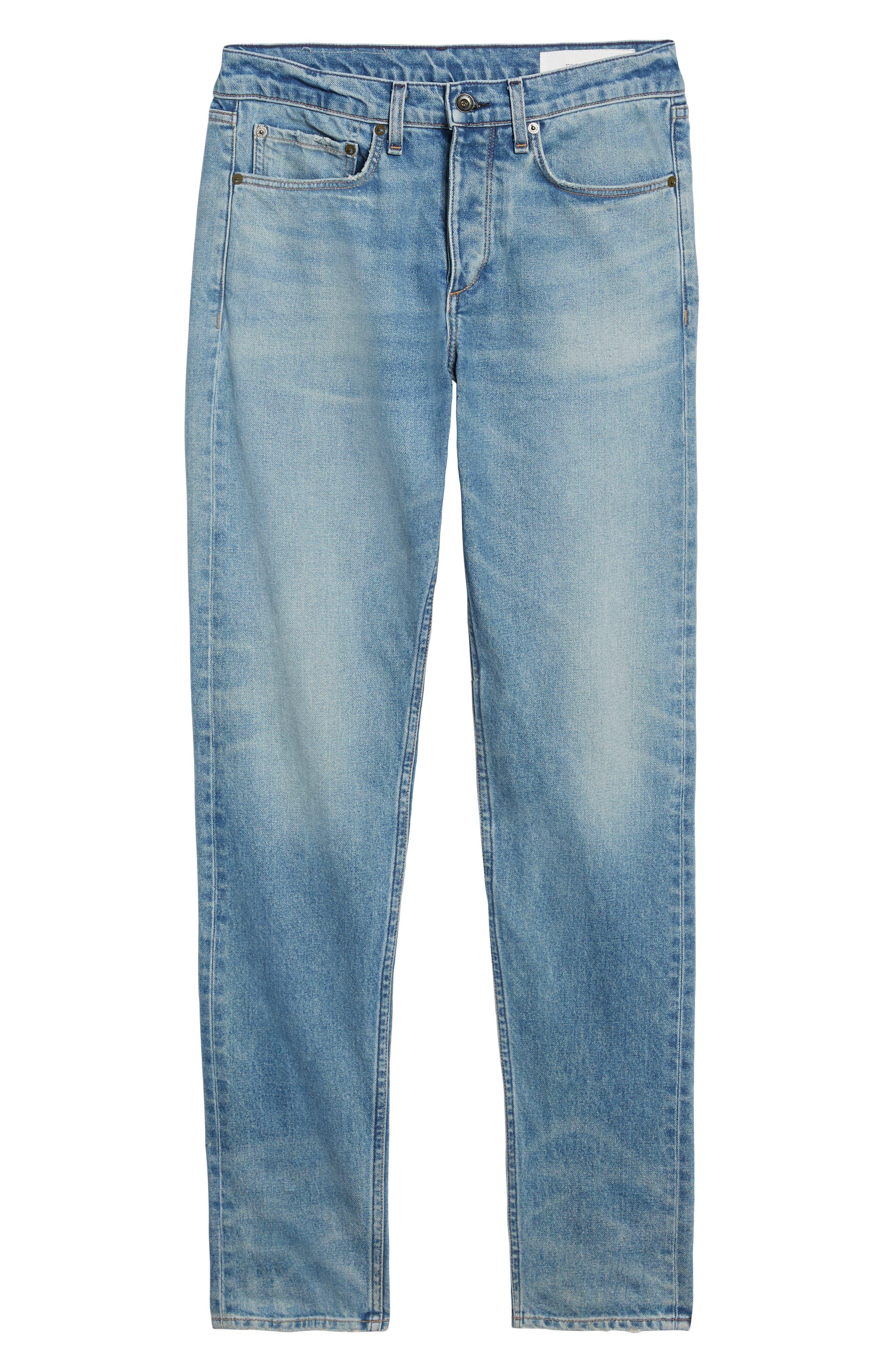 Fit 1 Skinny Fit Jeans,                             Alternate thumbnail 6, color,                             JAMIE