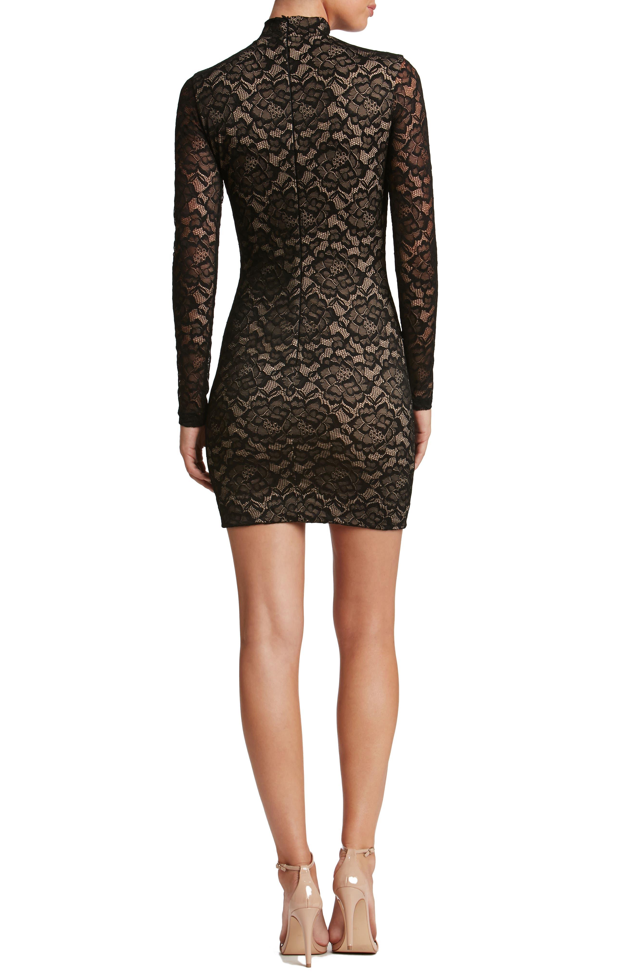 Penelope Body-Con Dress,                             Alternate thumbnail 2, color,                             002