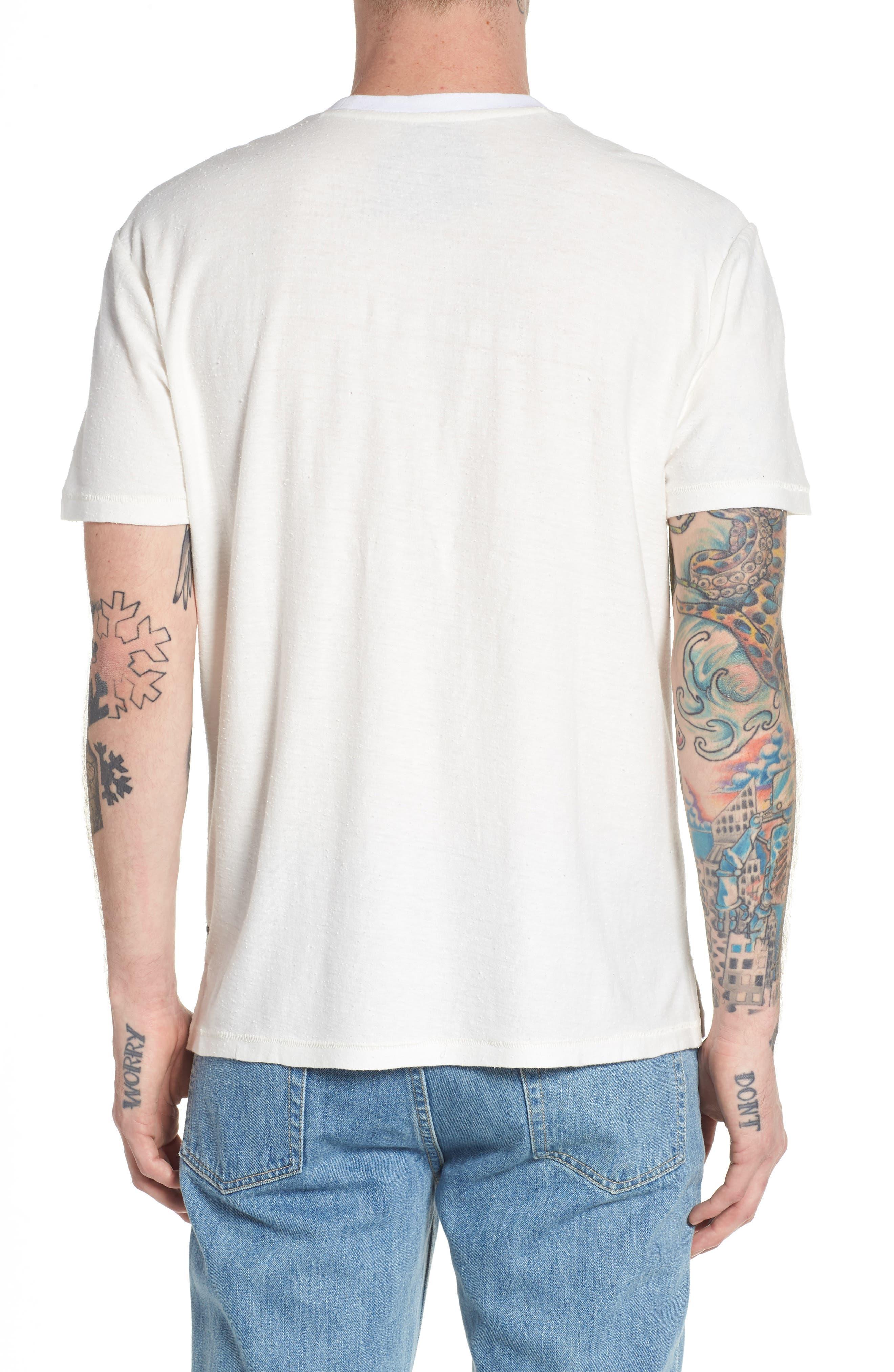Nep Cotton Pocket T-Shirt,                             Alternate thumbnail 4, color,