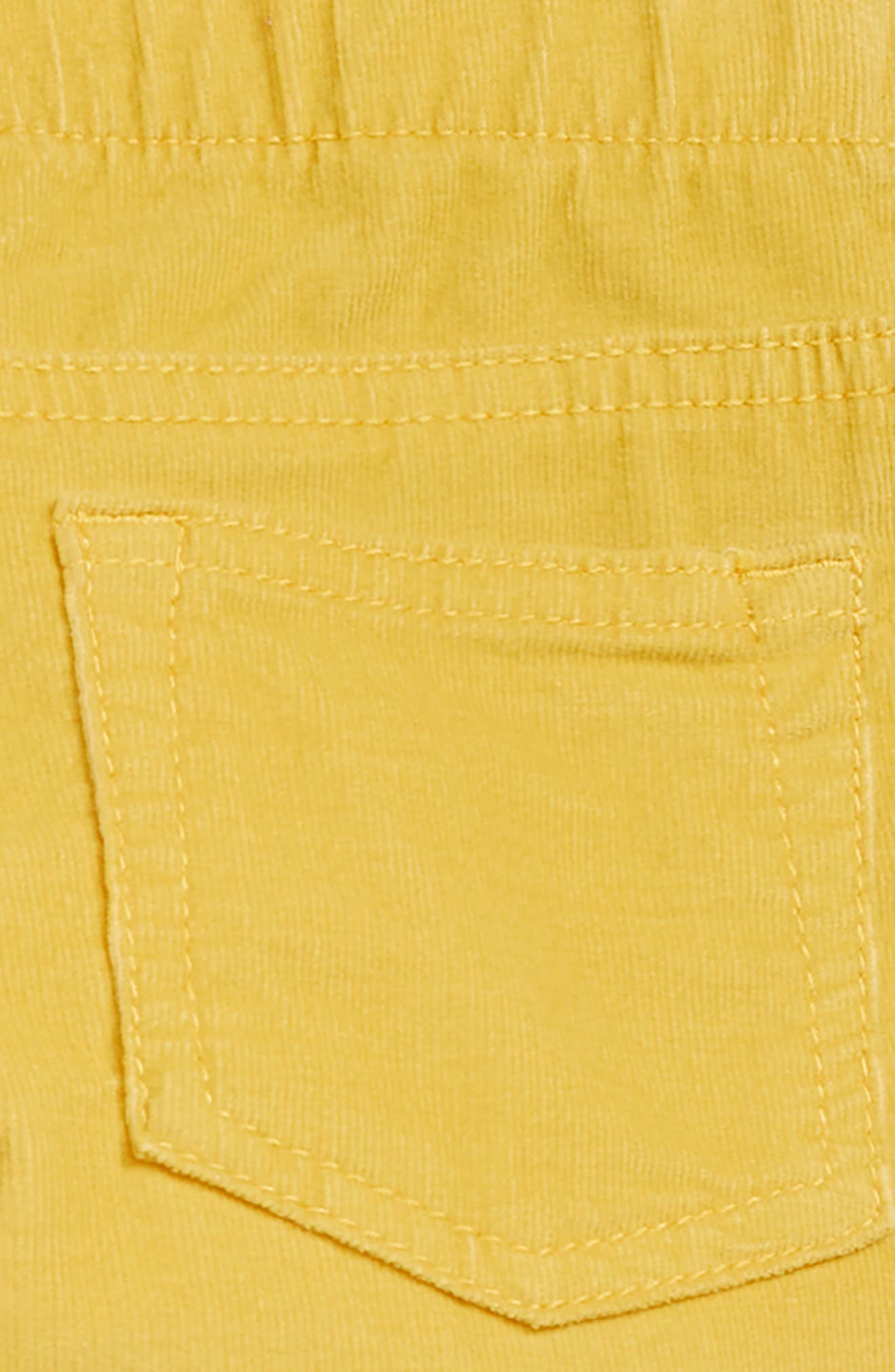 Pull-On Corduroy Pants,                             Alternate thumbnail 3, color,                             YELLOW FUN