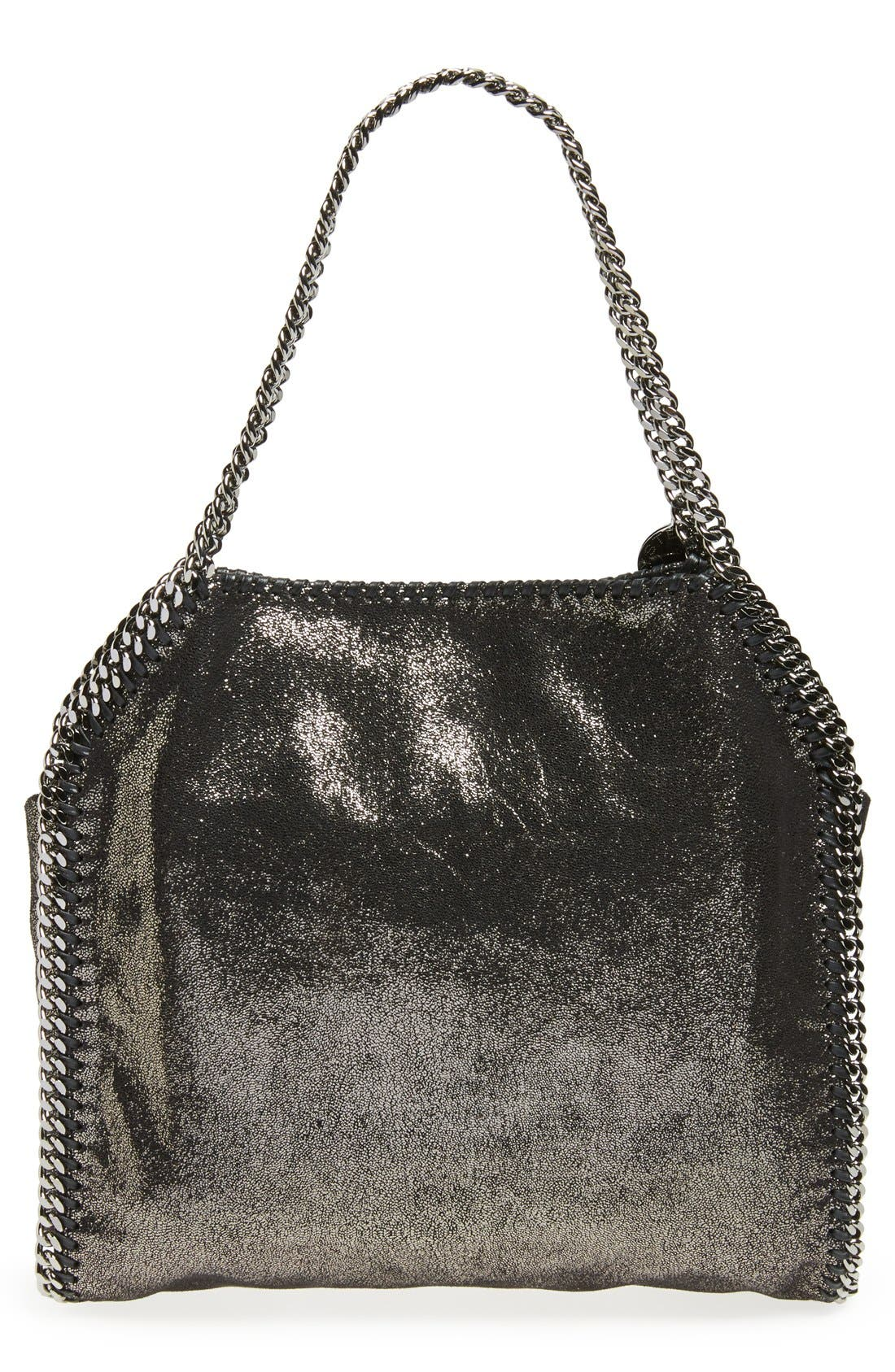 'Small Falabella' Faux Leather Tote,                             Alternate thumbnail 3, color,                             711