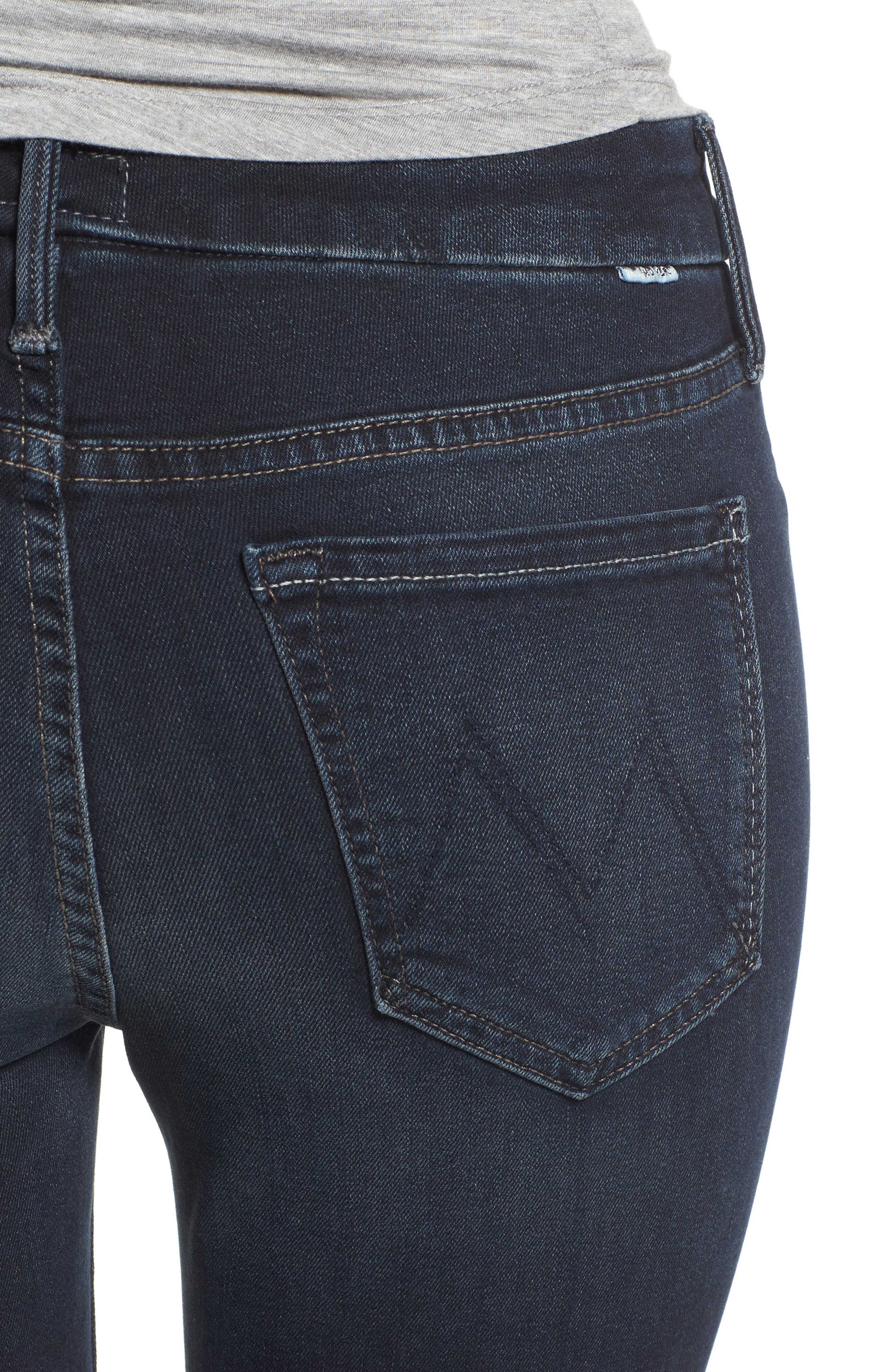 The Looker Crop Skinny Jeans,                             Alternate thumbnail 4, color,                             405