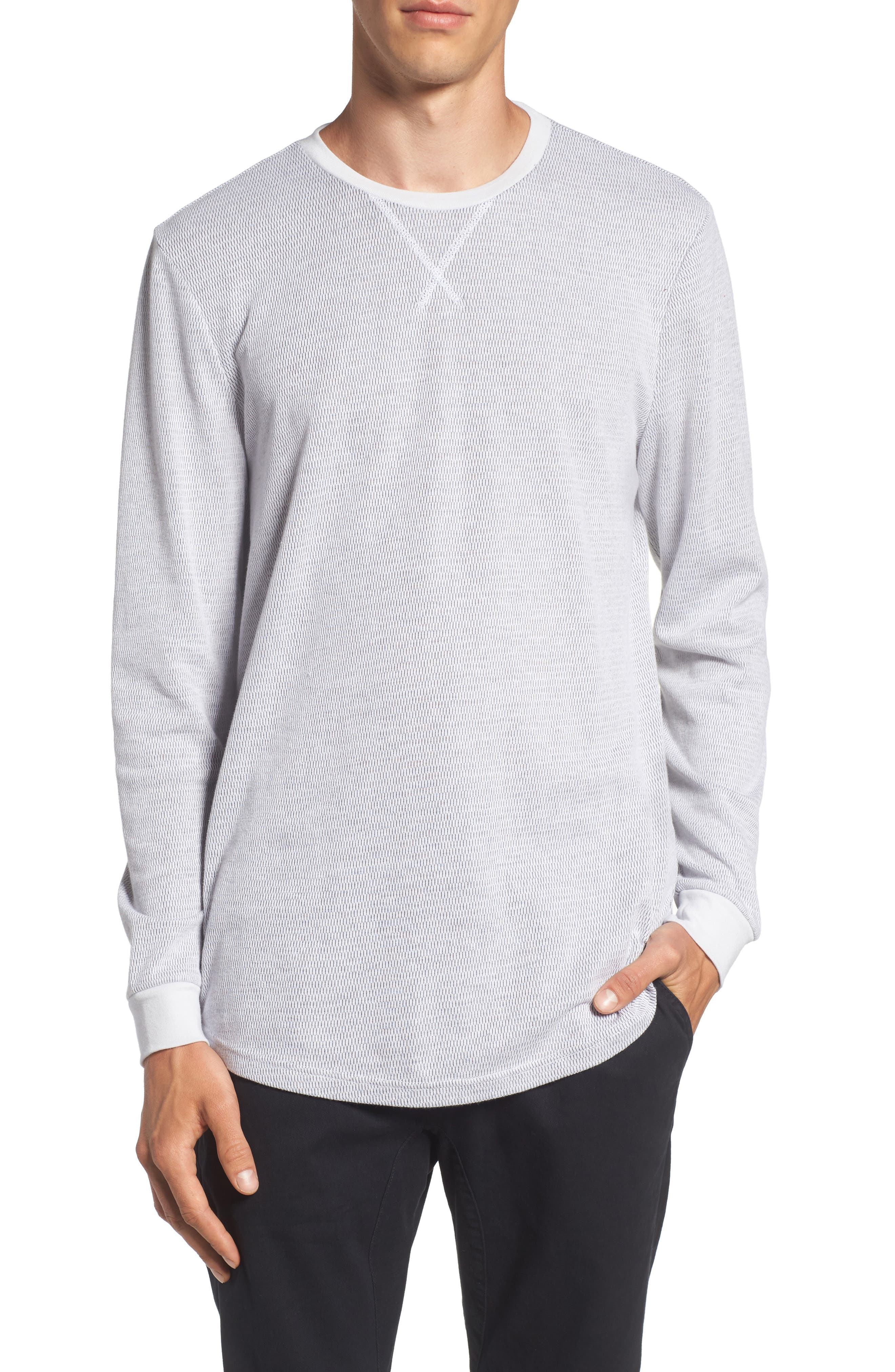 Longline Thermal T-Shirt,                             Main thumbnail 2, color,