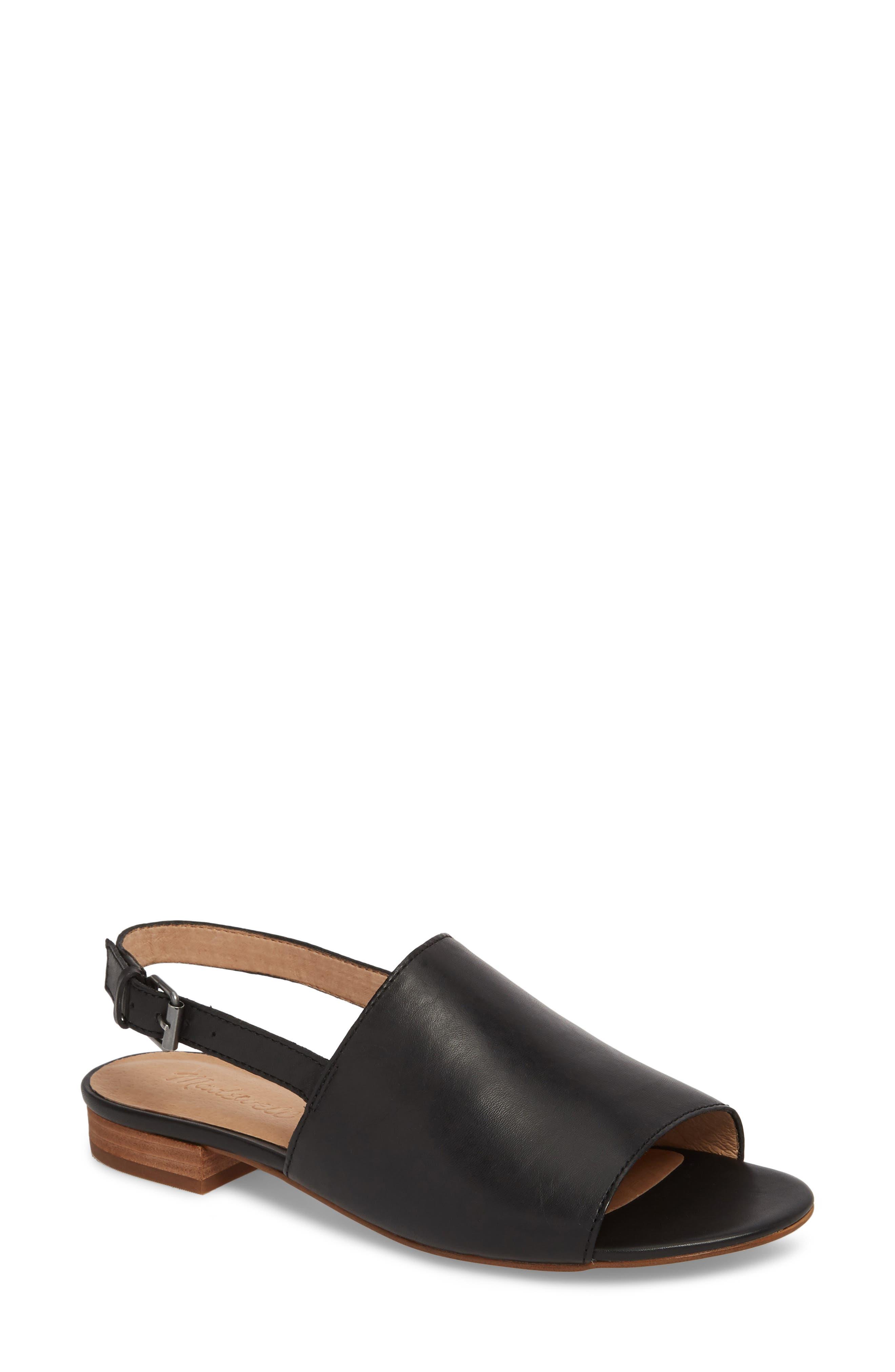 MADEWELL Noelle Slingback Sandal, Main, color, 001