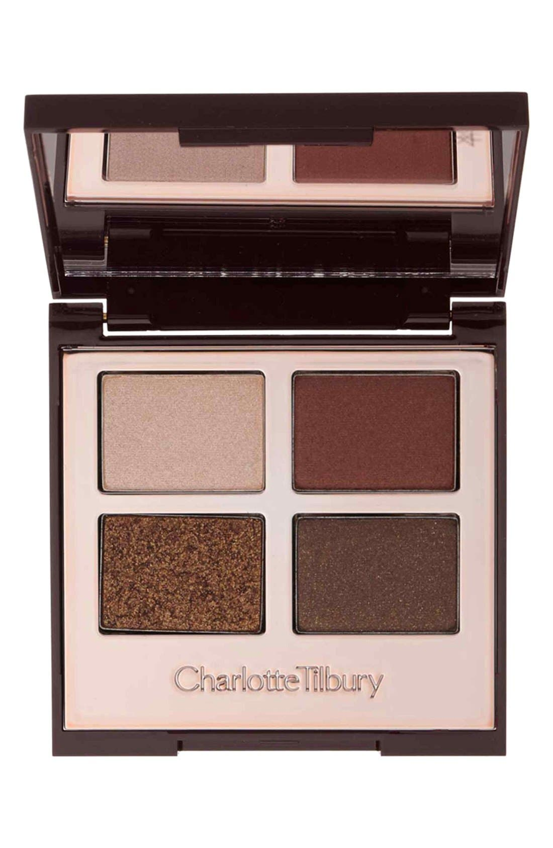 Luxury Palette - The Dolce Vita Color-Coded Eyeshadow Palette,                             Main thumbnail 1, color,                             THE DOLCE VITA