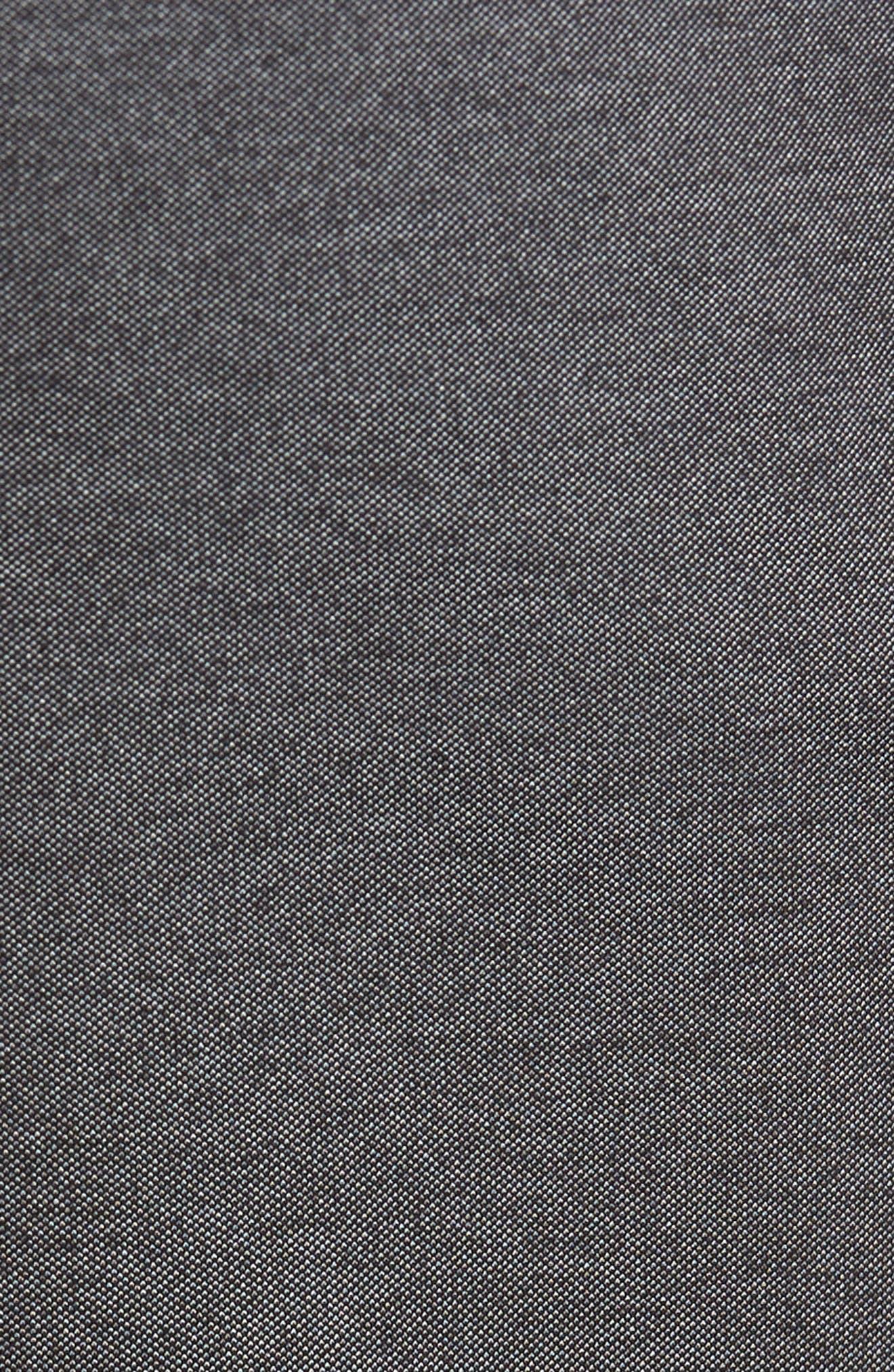 Kaito Melange Cotton Blend Pants,                             Alternate thumbnail 5, color,                             030