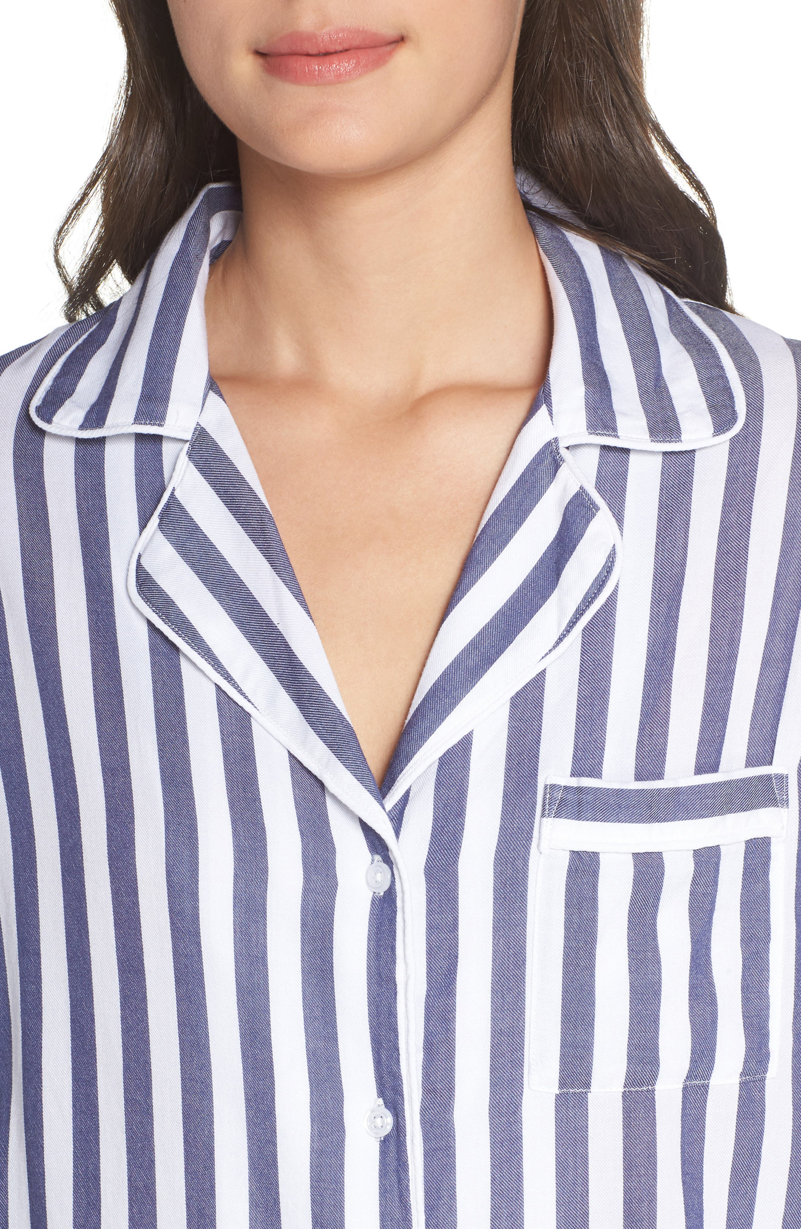 Stripe Pajamas,                             Alternate thumbnail 4, color,                             ALBANY STRIPE