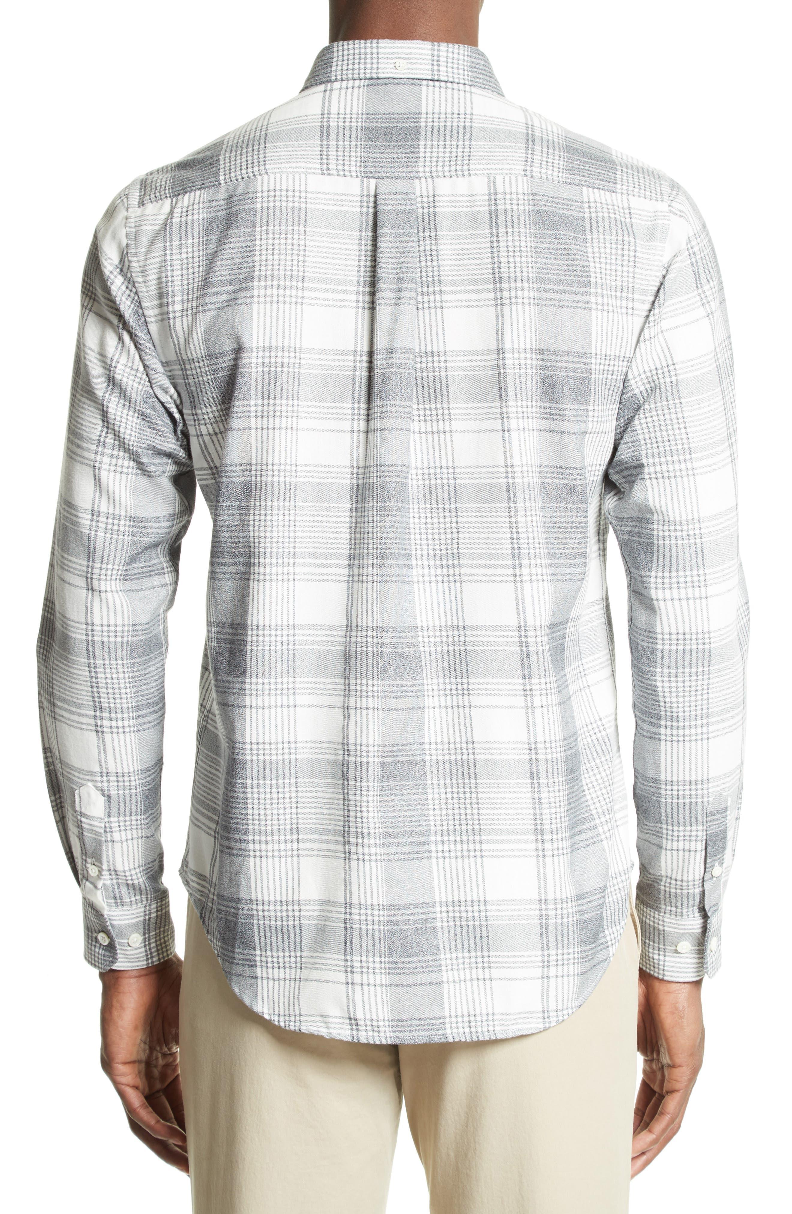 Woven Check Sport Shirt,                             Alternate thumbnail 3, color,                             410