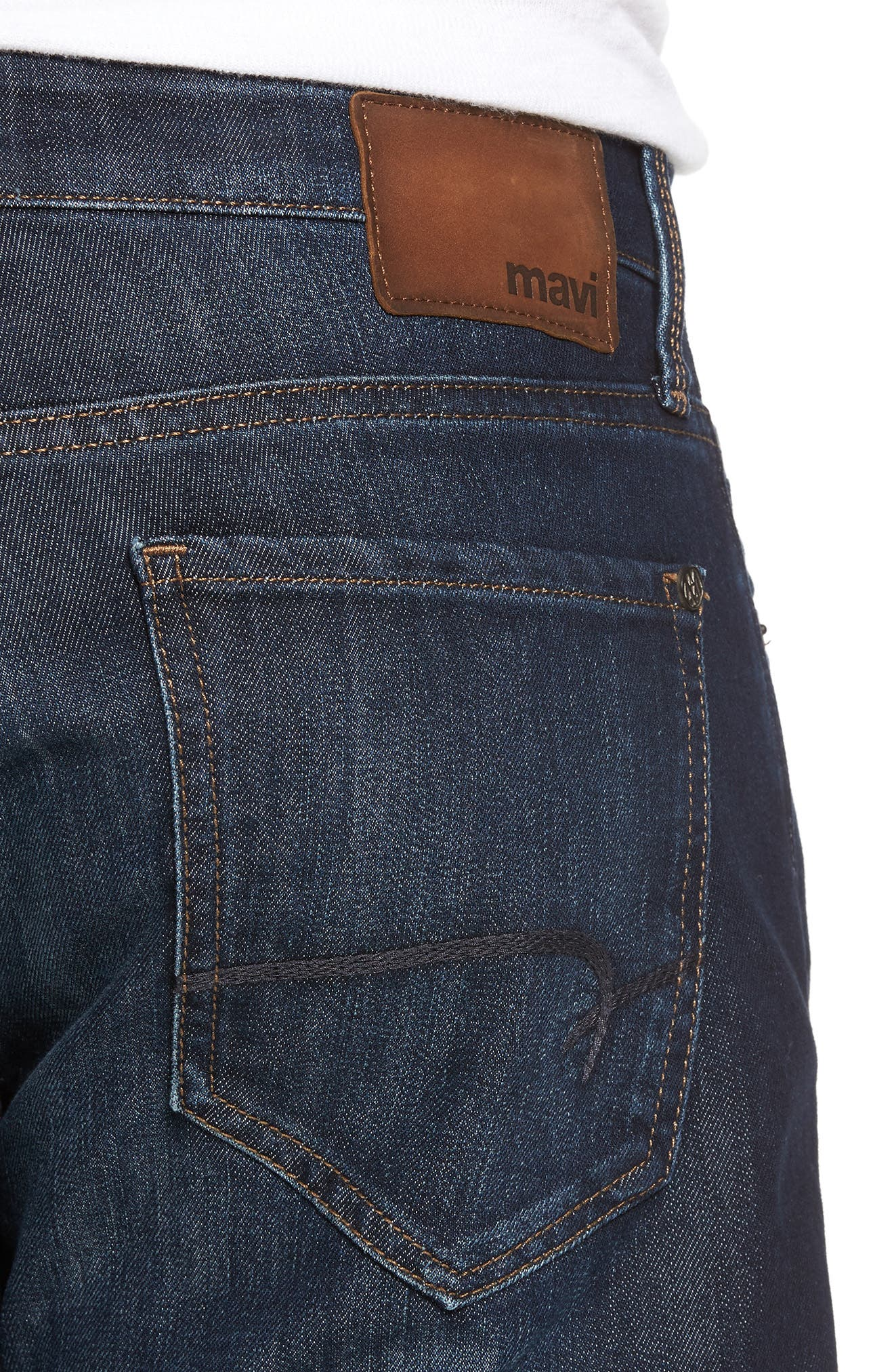 Zach Straight Leg Jeans,                             Alternate thumbnail 4, color,                             400