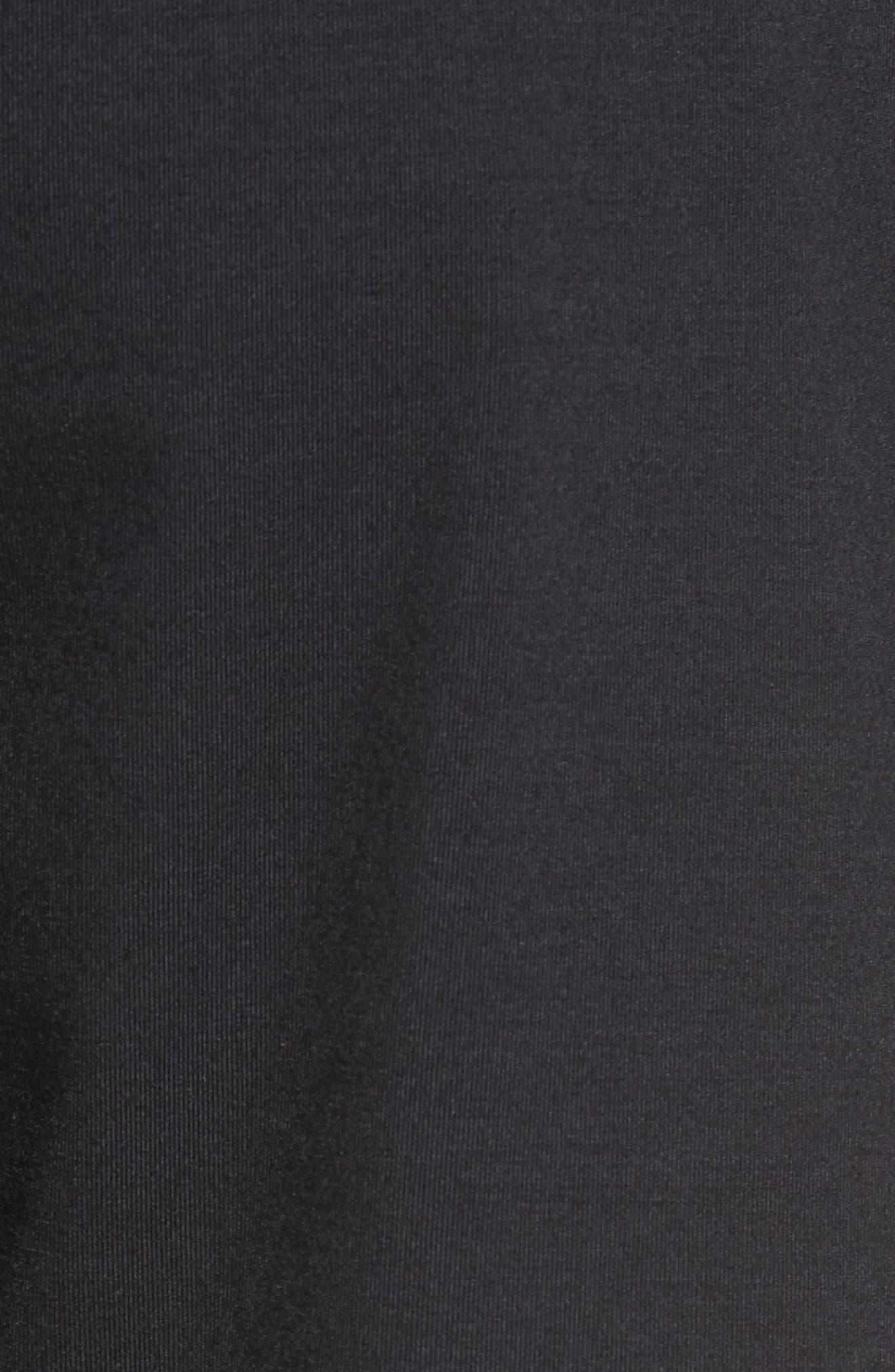 Puffer Zips Hybrid Jacket,                             Alternate thumbnail 6, color,                             001