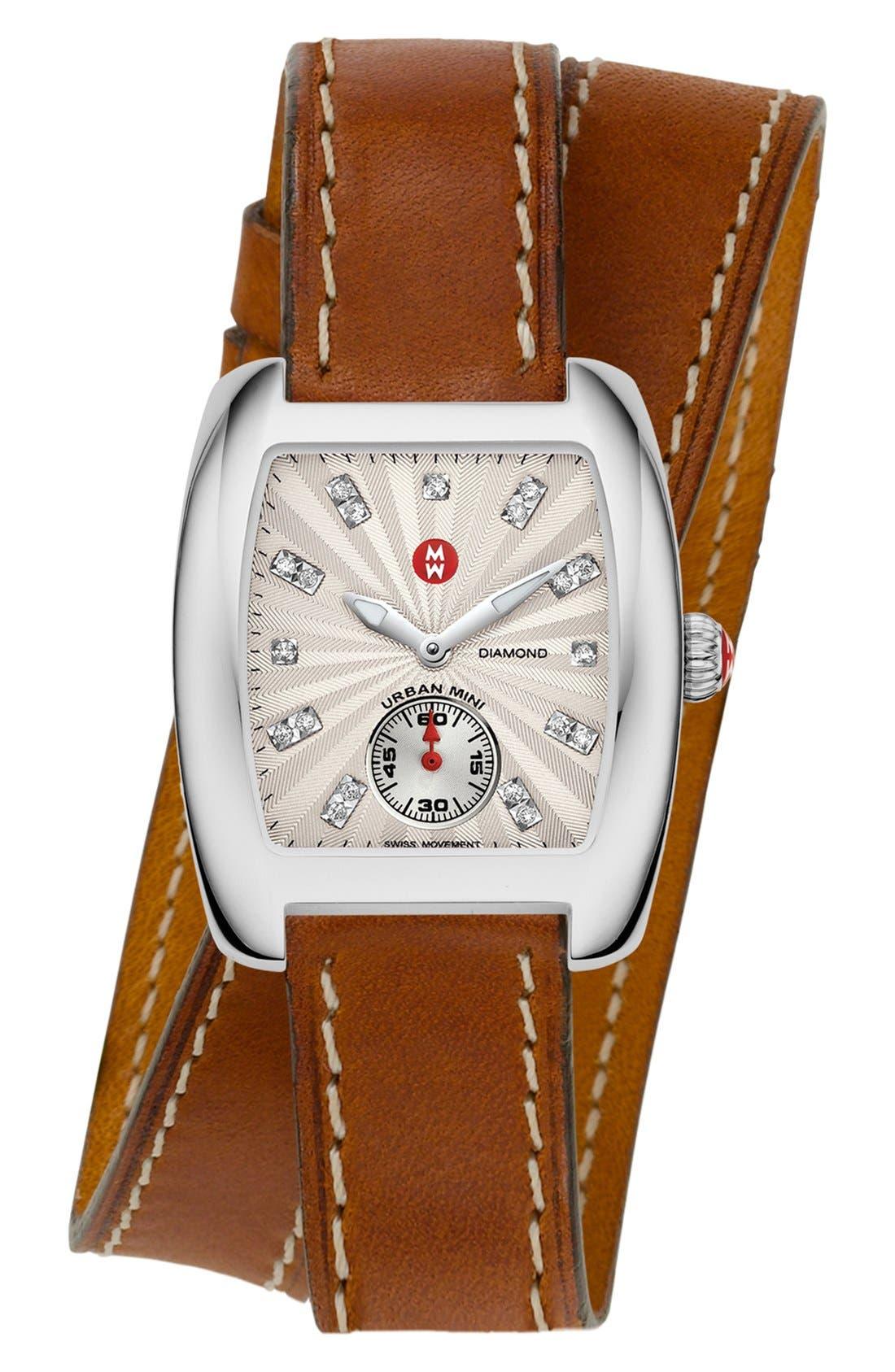 Urban Mini Diamond Dial Watch Case, 29mm x 30mm,                             Alternate thumbnail 6, color,                             040