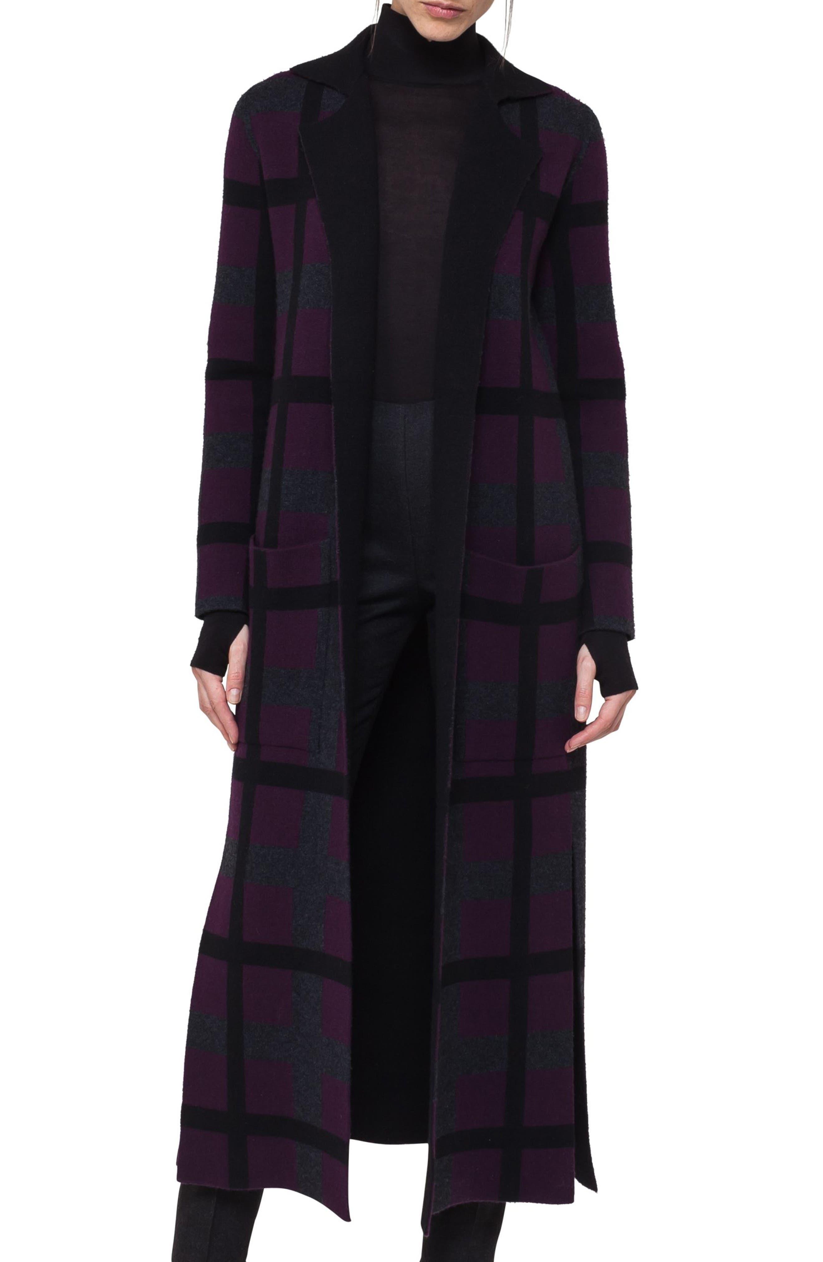 Reversible Double Face Cashmere Coat,                             Main thumbnail 1, color,