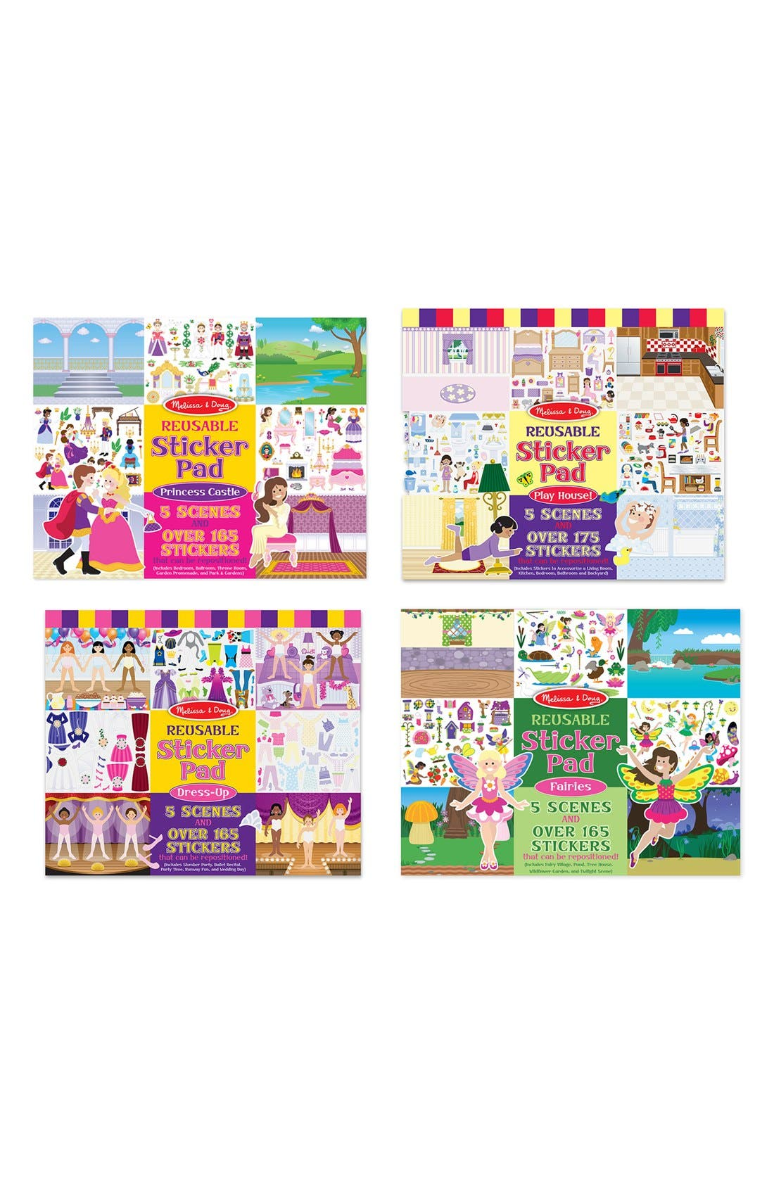 Reusable Sticker Pad,                             Main thumbnail 1, color,                             FAIRY