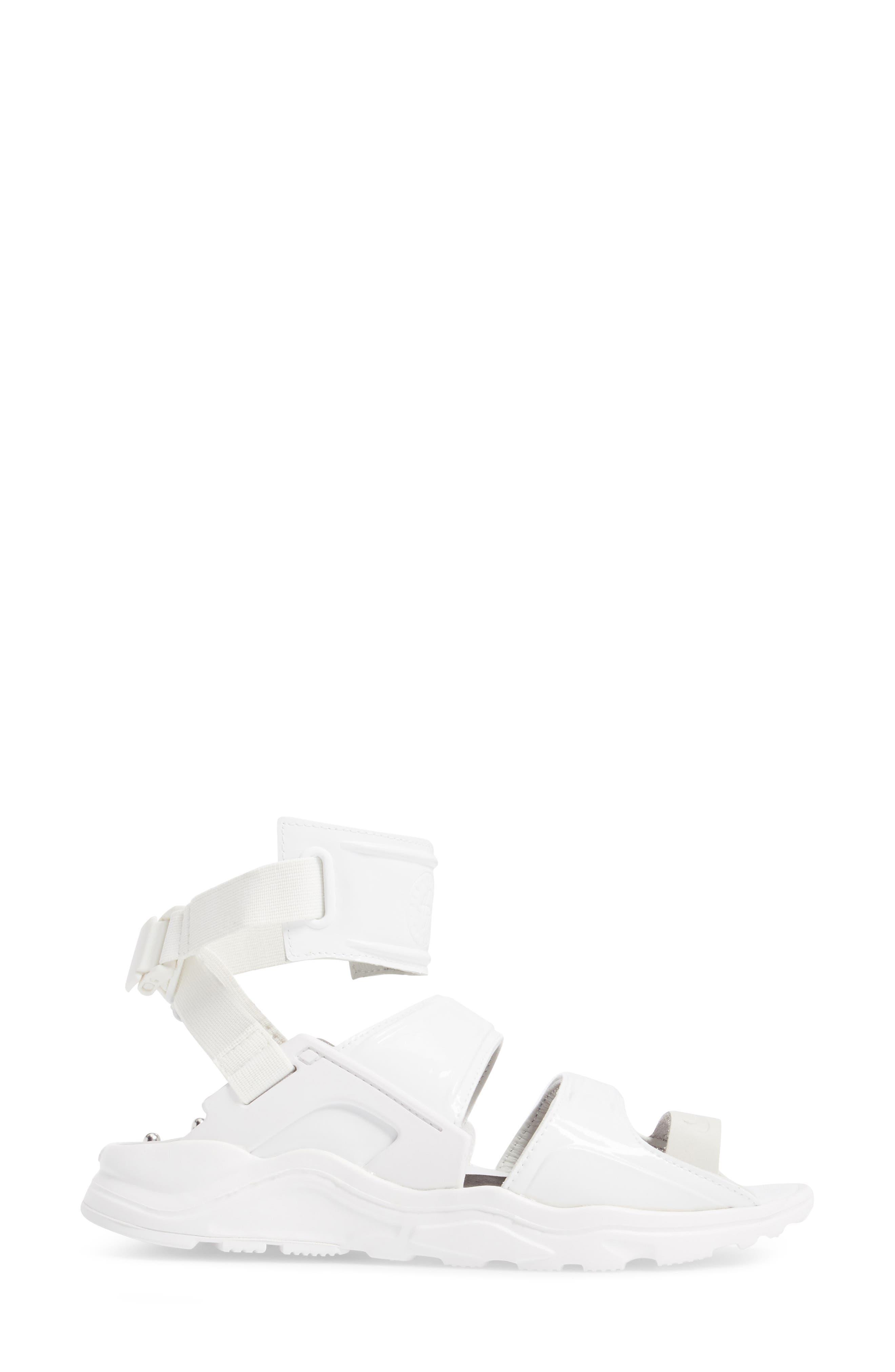 Air Huarache Gladiator Sandal,                             Alternate thumbnail 5, color,