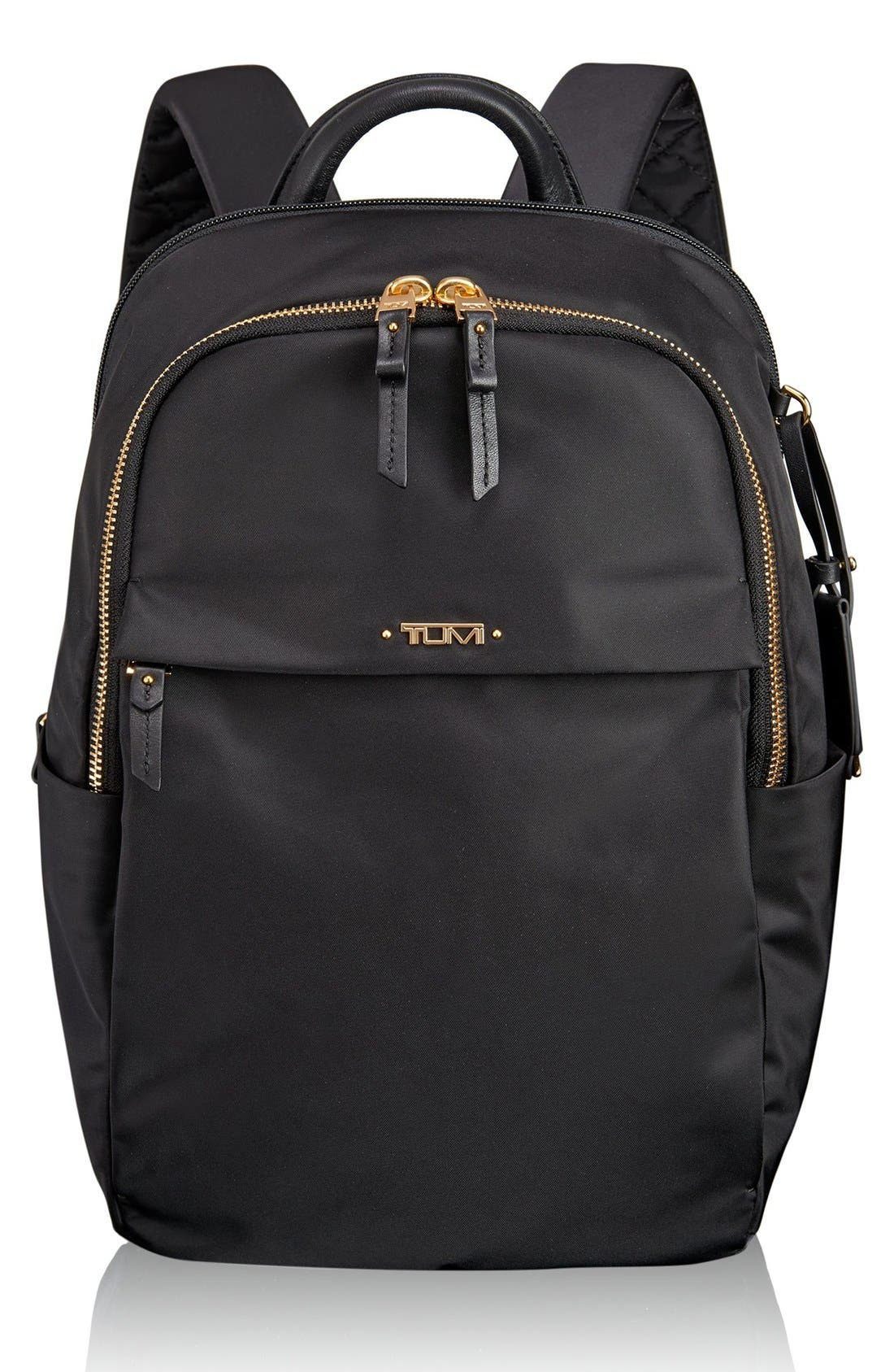 TUMI,                             Voyageur - Small Daniella Backpack,                             Main thumbnail 1, color,                             001