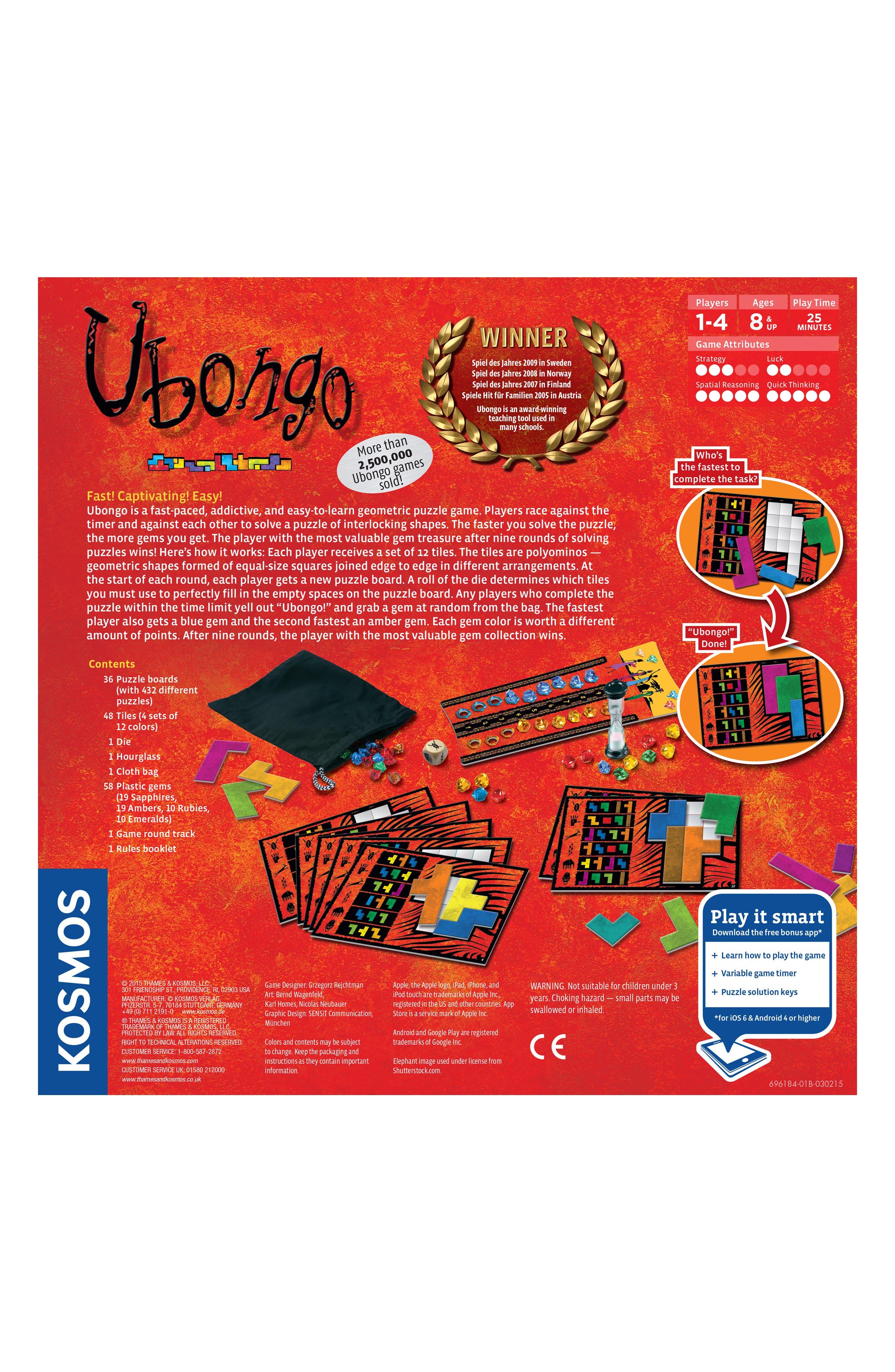 'Ubongo' Game,                             Alternate thumbnail 2, color,                             999