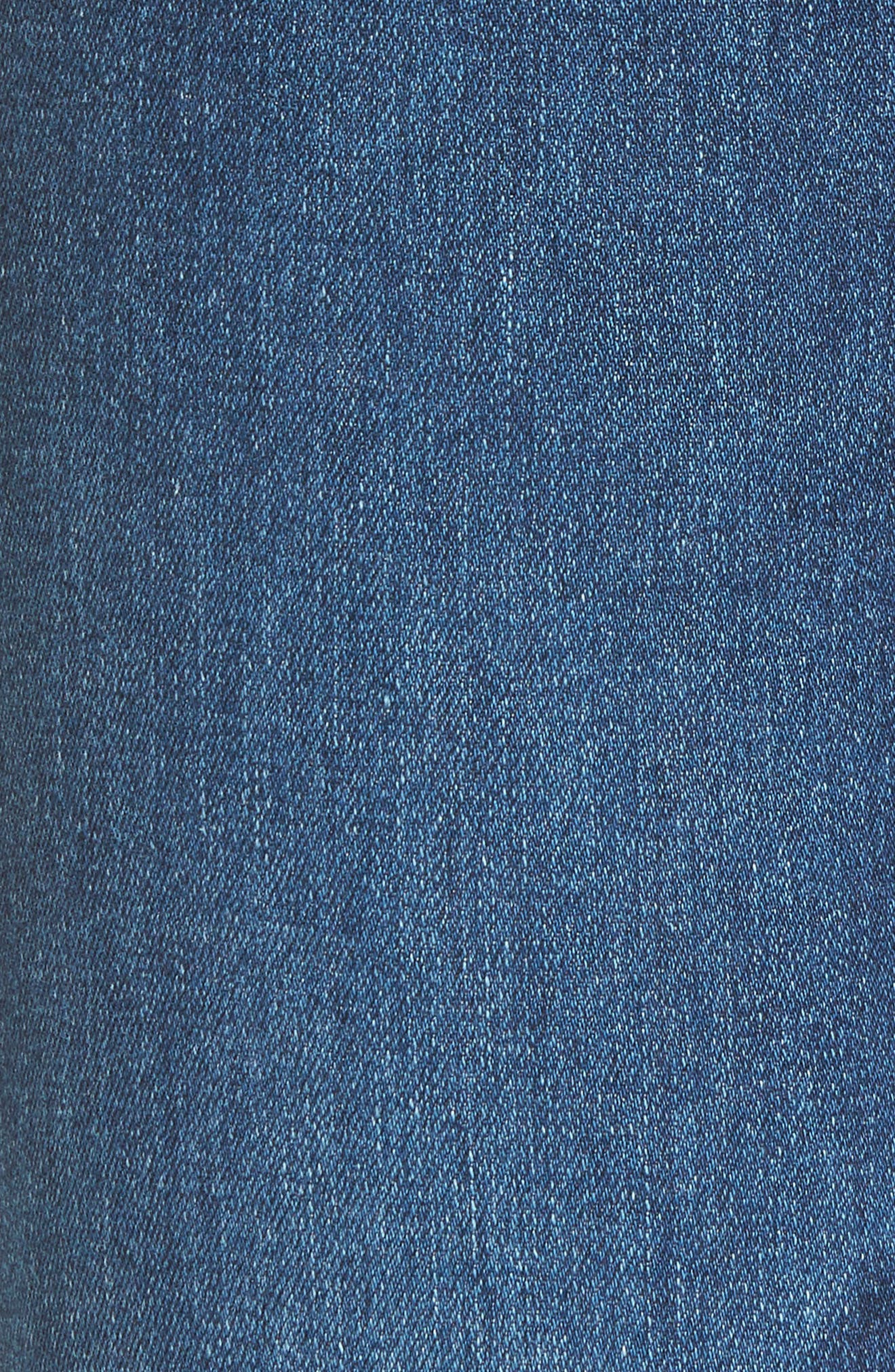 Harper Slim Straight Leg Jeans,                             Alternate thumbnail 6, color,                             8 YEARS BLUE PORTRAIT