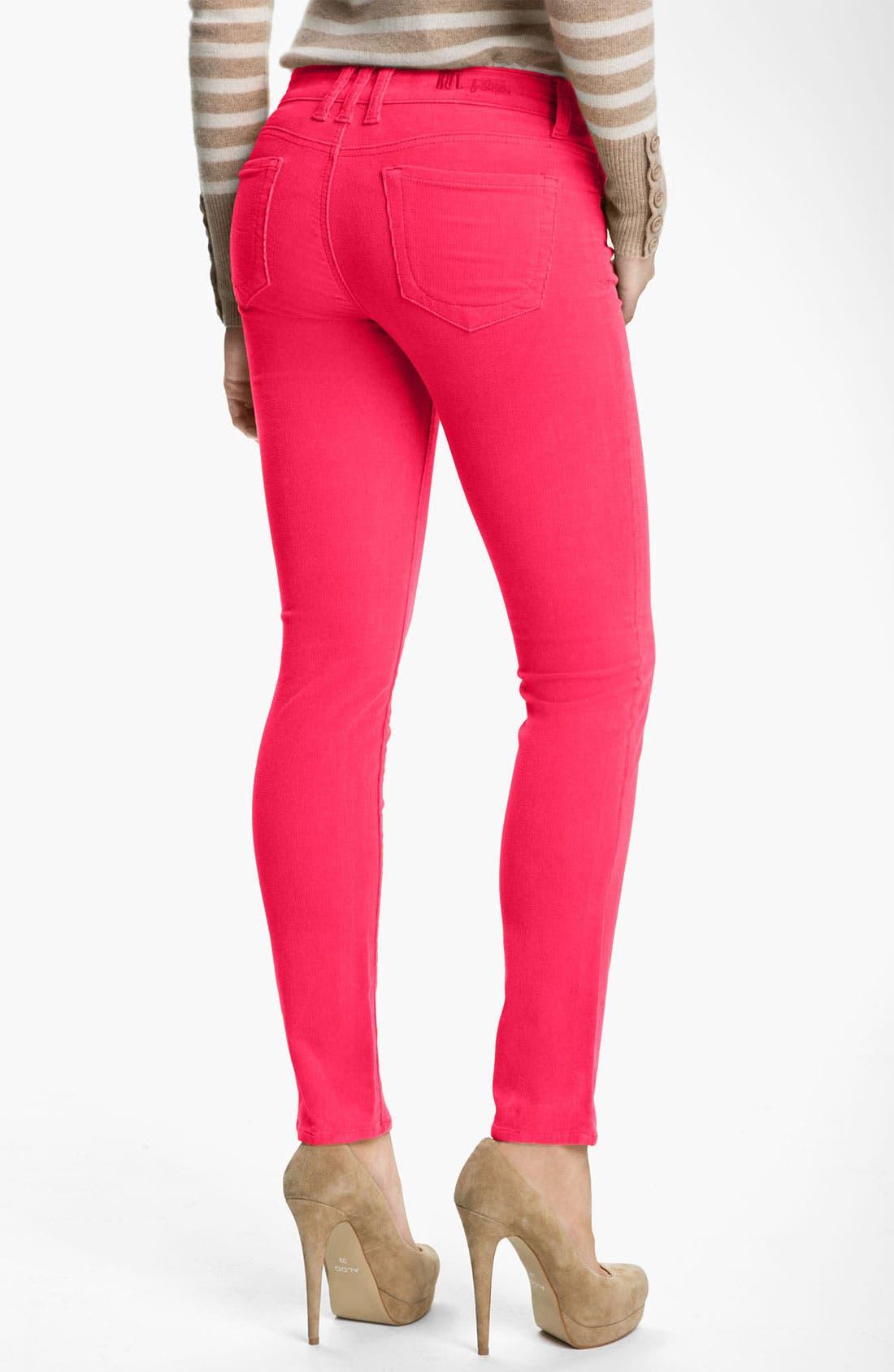 'Diana' Stretch Corduroy Skinny Pants,                             Alternate thumbnail 148, color,