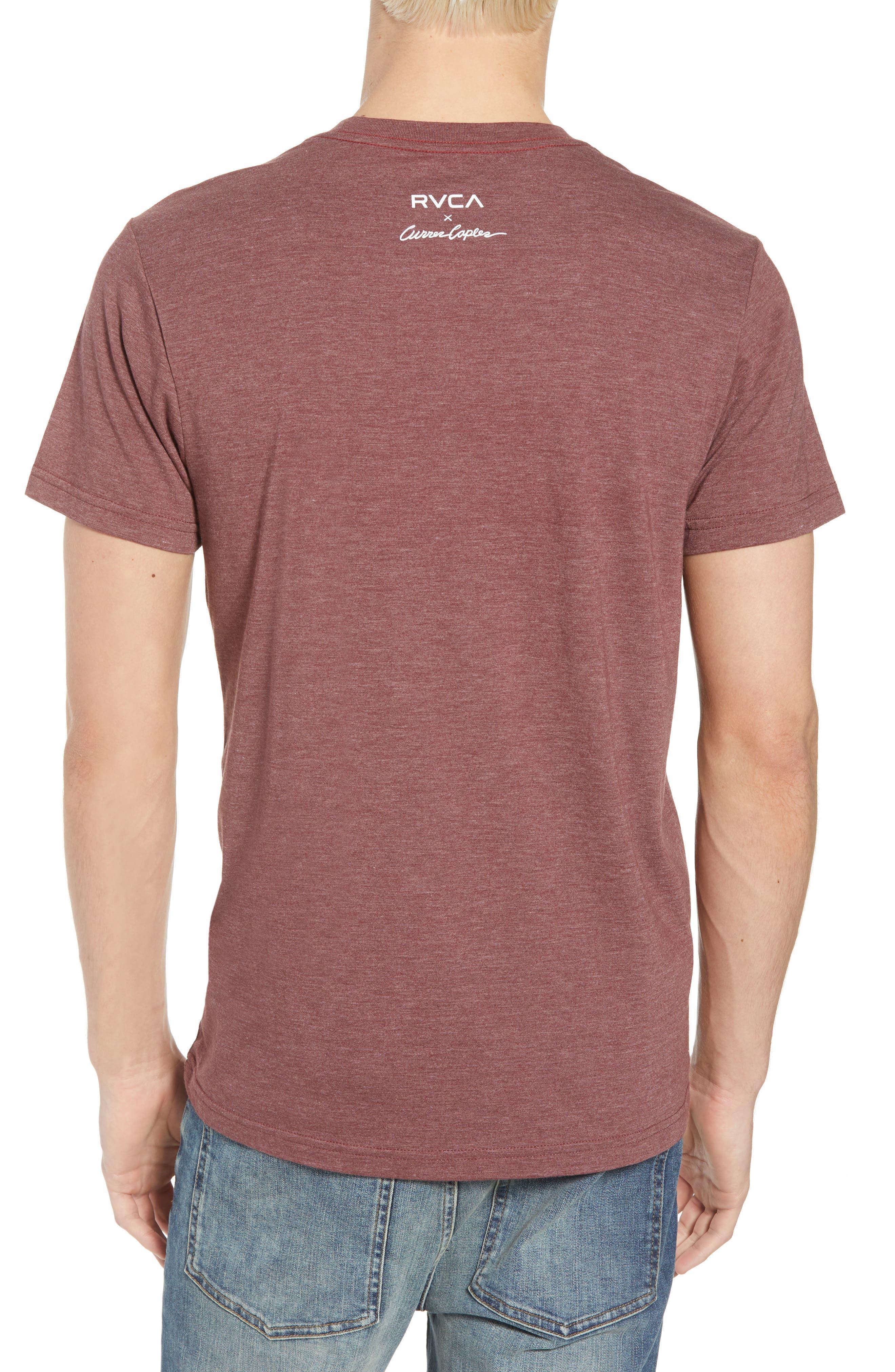 Curren Photo Graphic T-Shirt,                             Alternate thumbnail 2, color,                             BORDEAUX