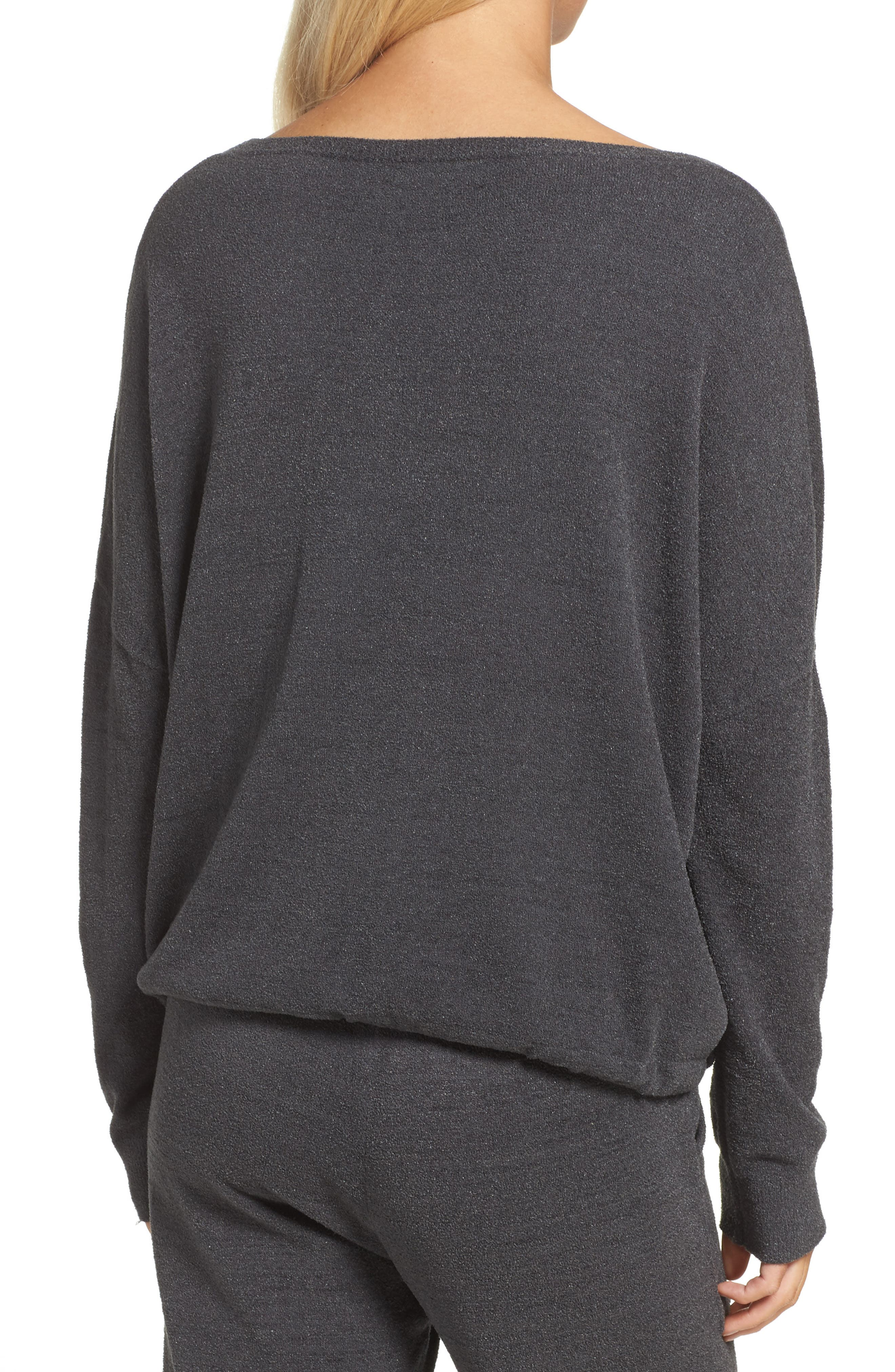 Cozychic Ultra Lite<sup>®</sup> Lounge Pullover,                             Alternate thumbnail 2, color,                             CARBON