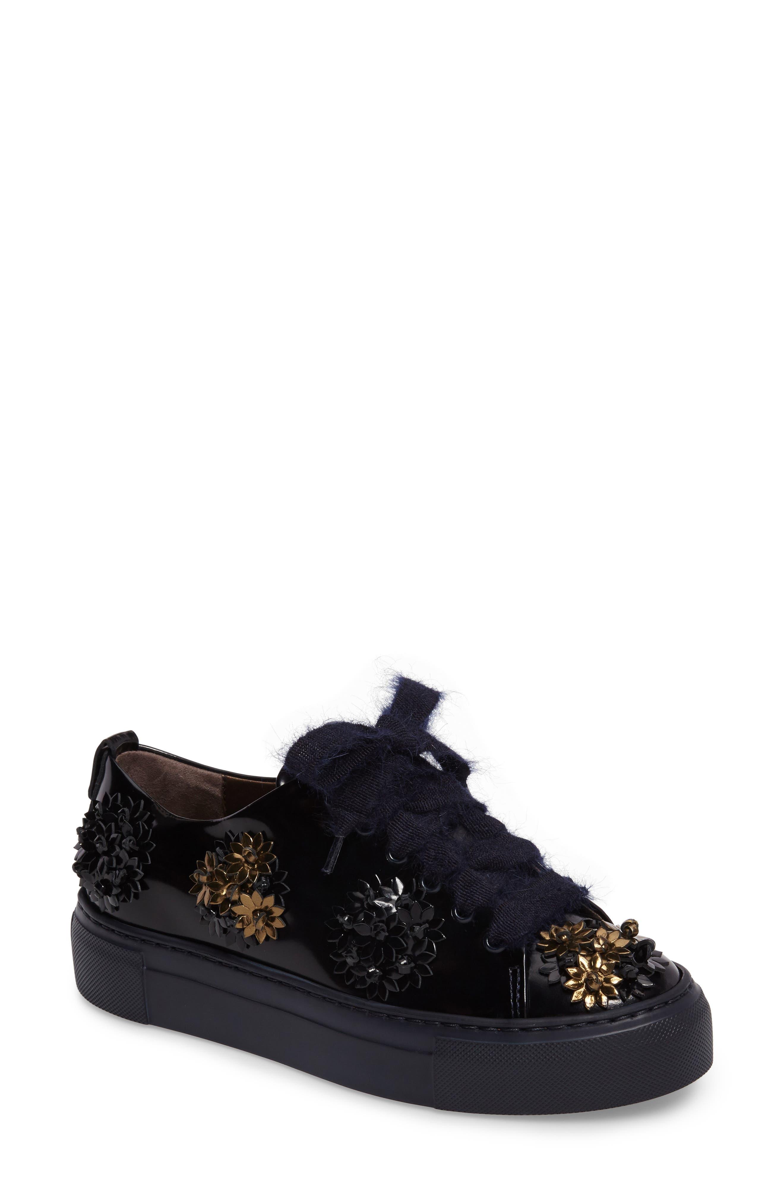 Flower Platform Sneaker,                             Main thumbnail 1, color,                             410