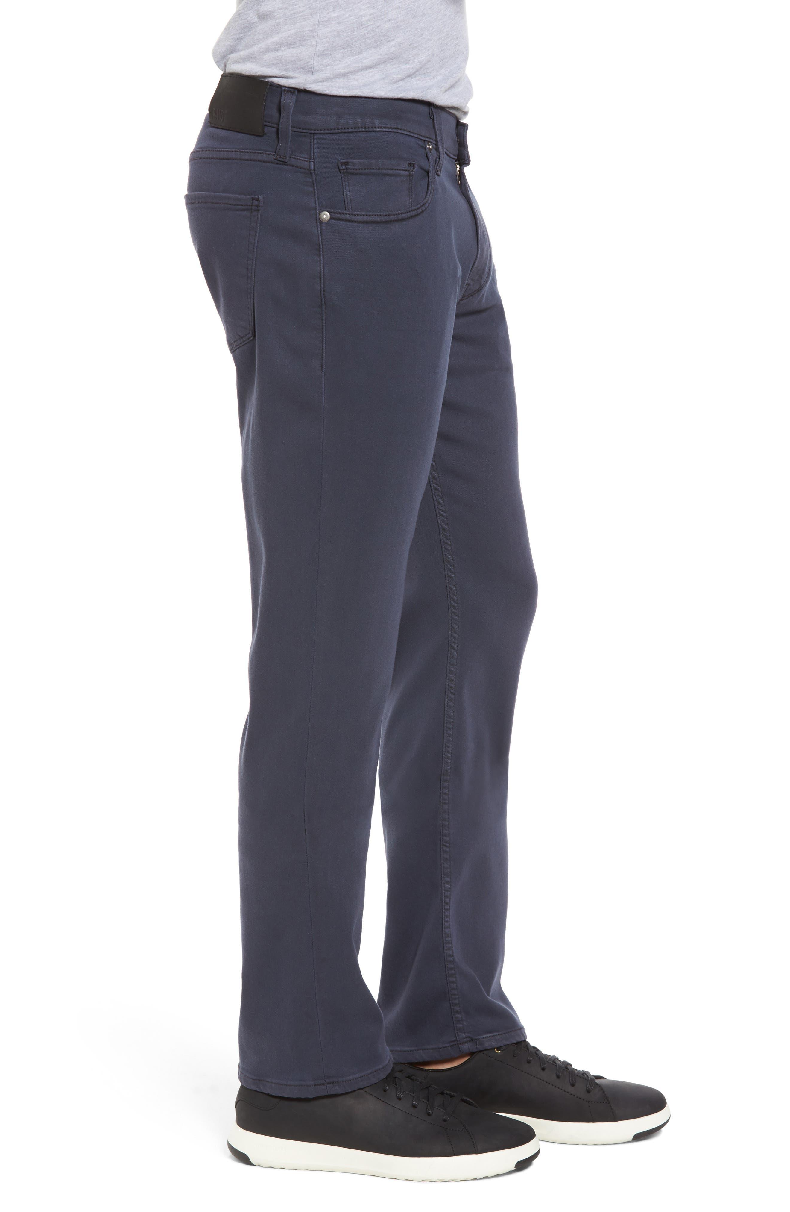 Transcend - Federal Slim Straight Leg Jeans,                             Alternate thumbnail 3, color,                             400