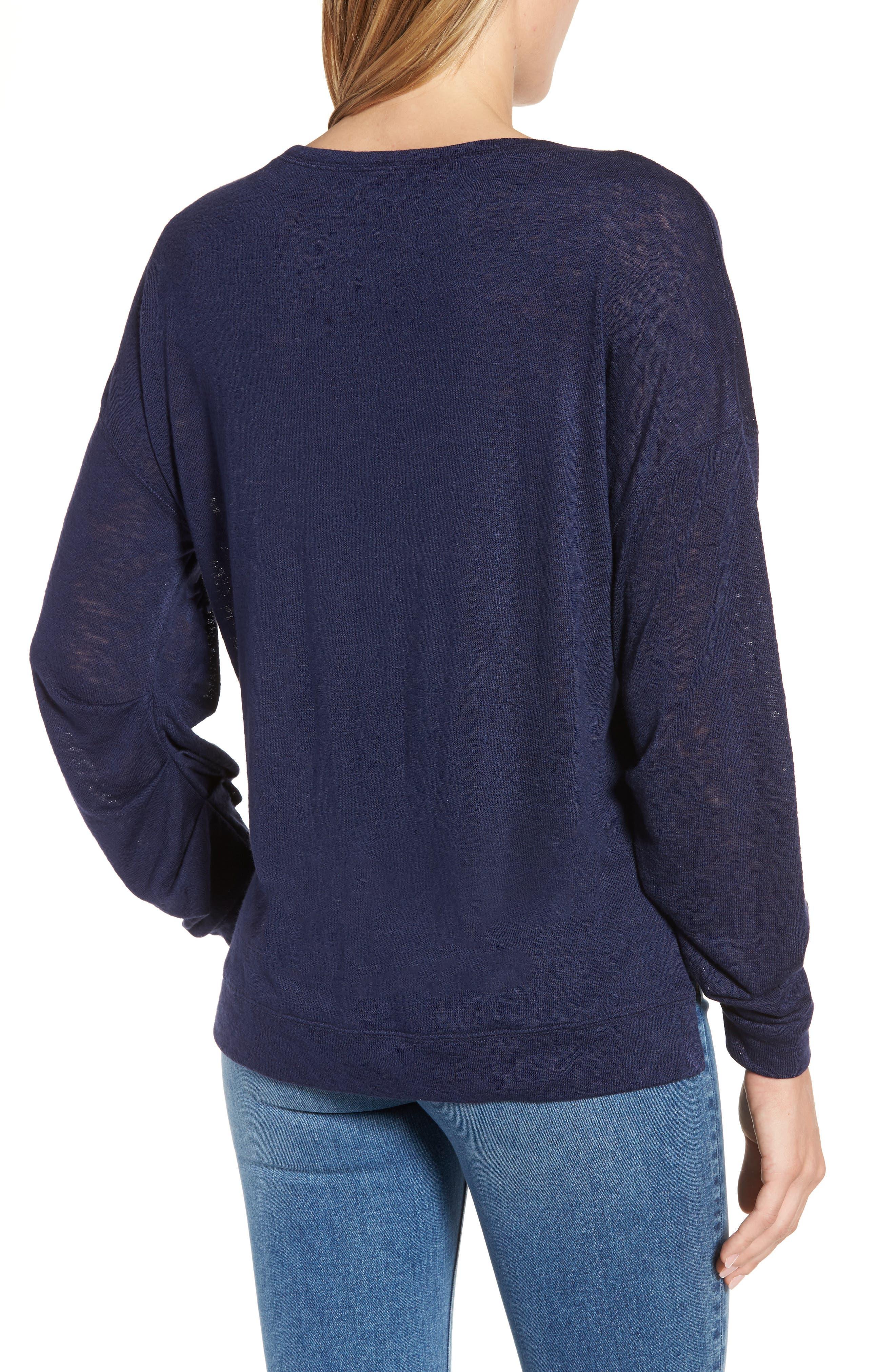 Tuck Sleeve Sweatshirt,                             Alternate thumbnail 11, color,