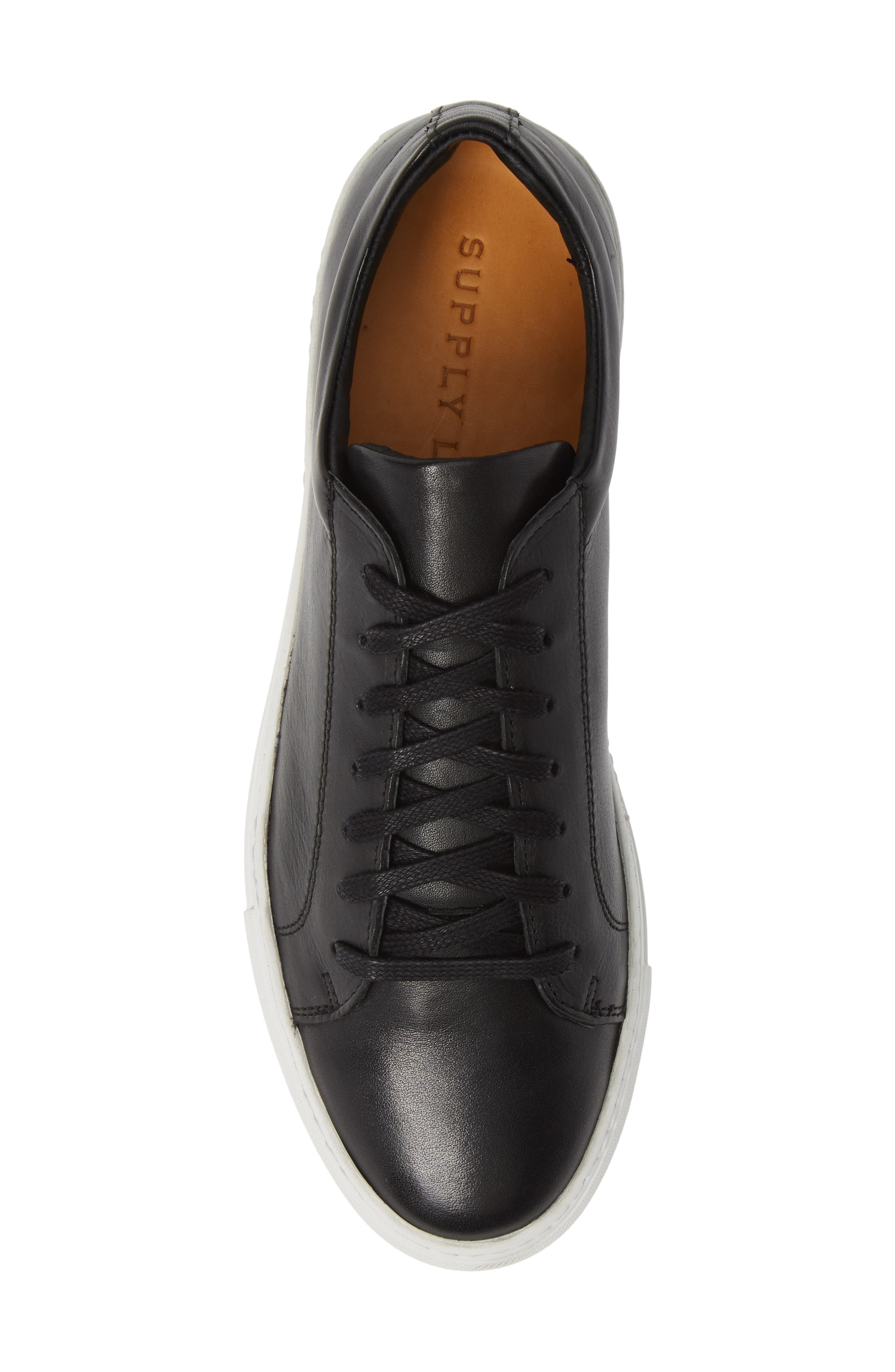 Damian Lace-Up Sneaker,                             Alternate thumbnail 5, color,                             001