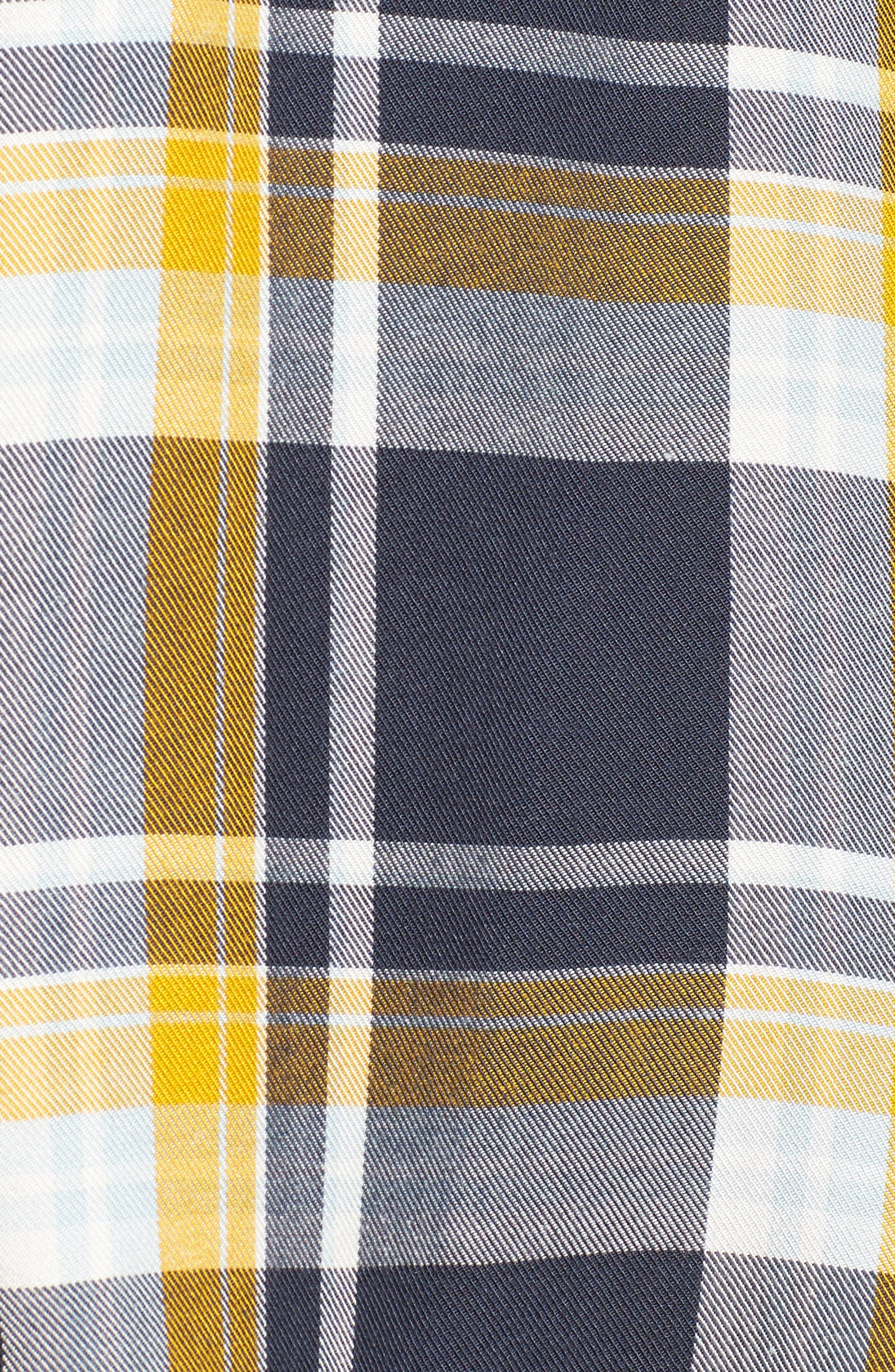 Plaid Boyfriend Shirt,                             Alternate thumbnail 22, color,